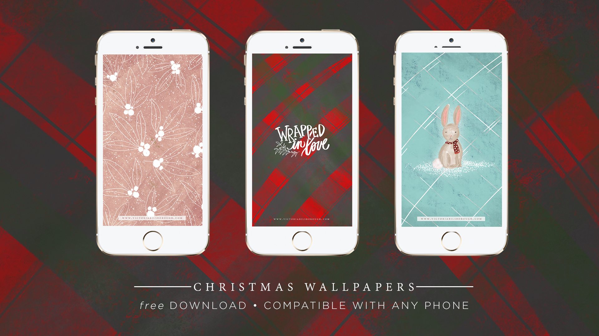 Free Christmas Wallpapers for your phone/laptop/iPad || Click here to download.