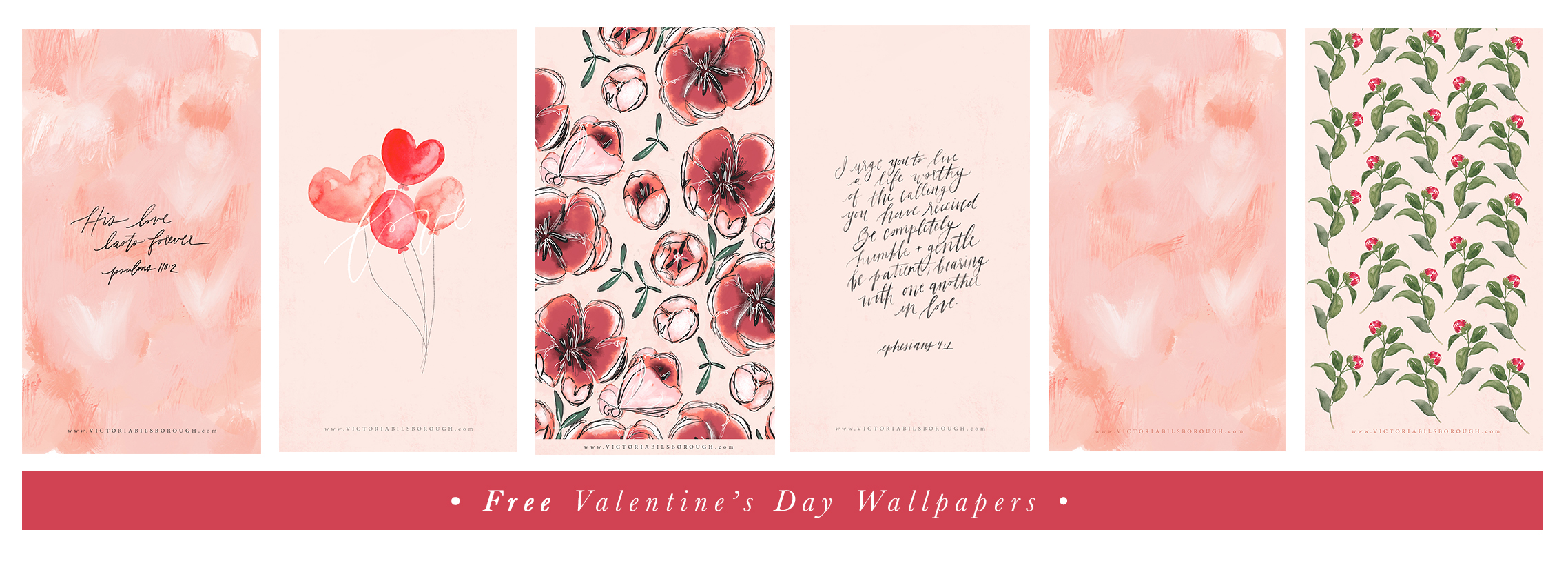 Free Valentine's Day Wallpapers | www.victoriabilsborough.com
