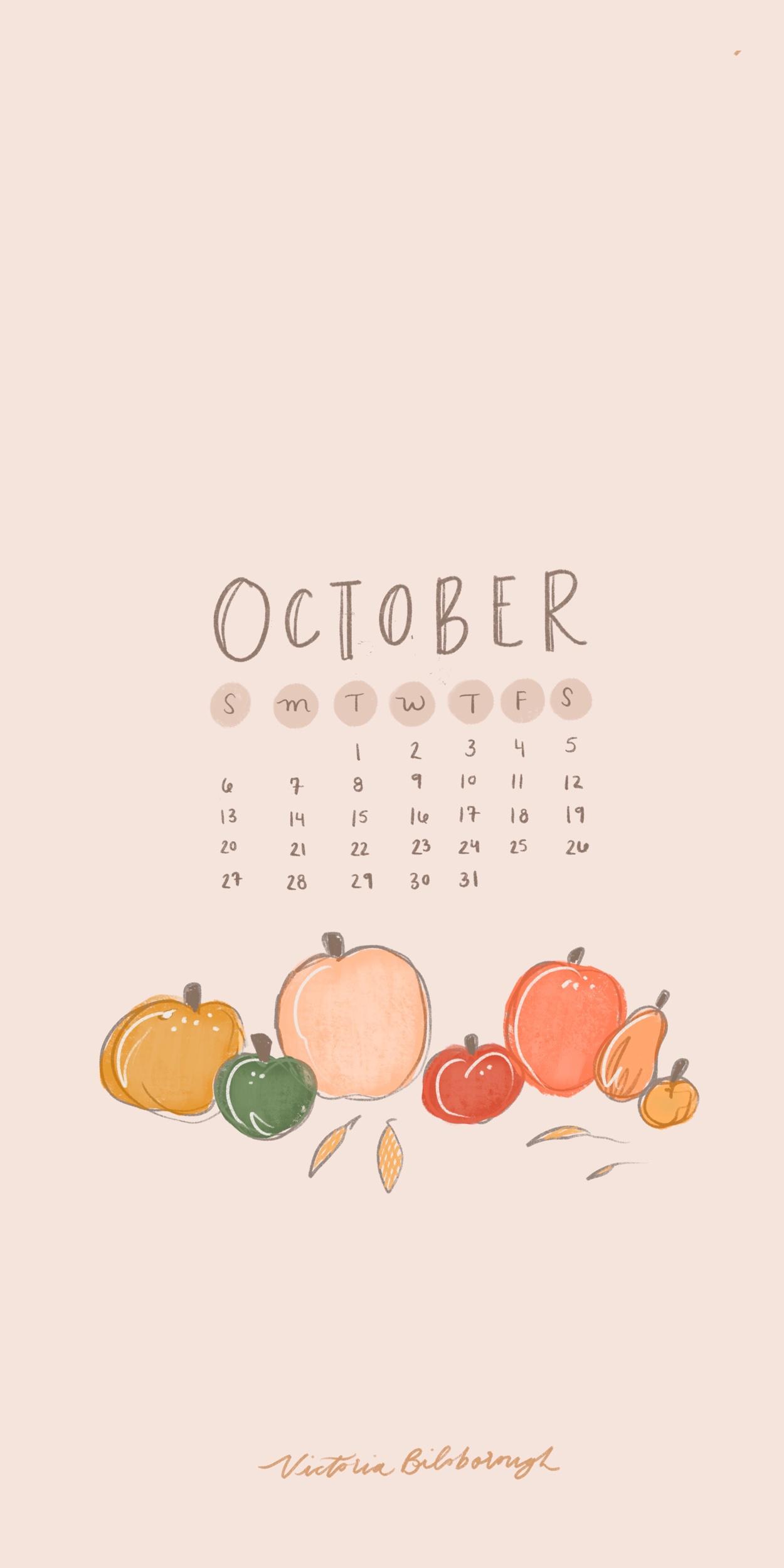 Victoria Bilsborough | October 2019 Phone Wallpapers