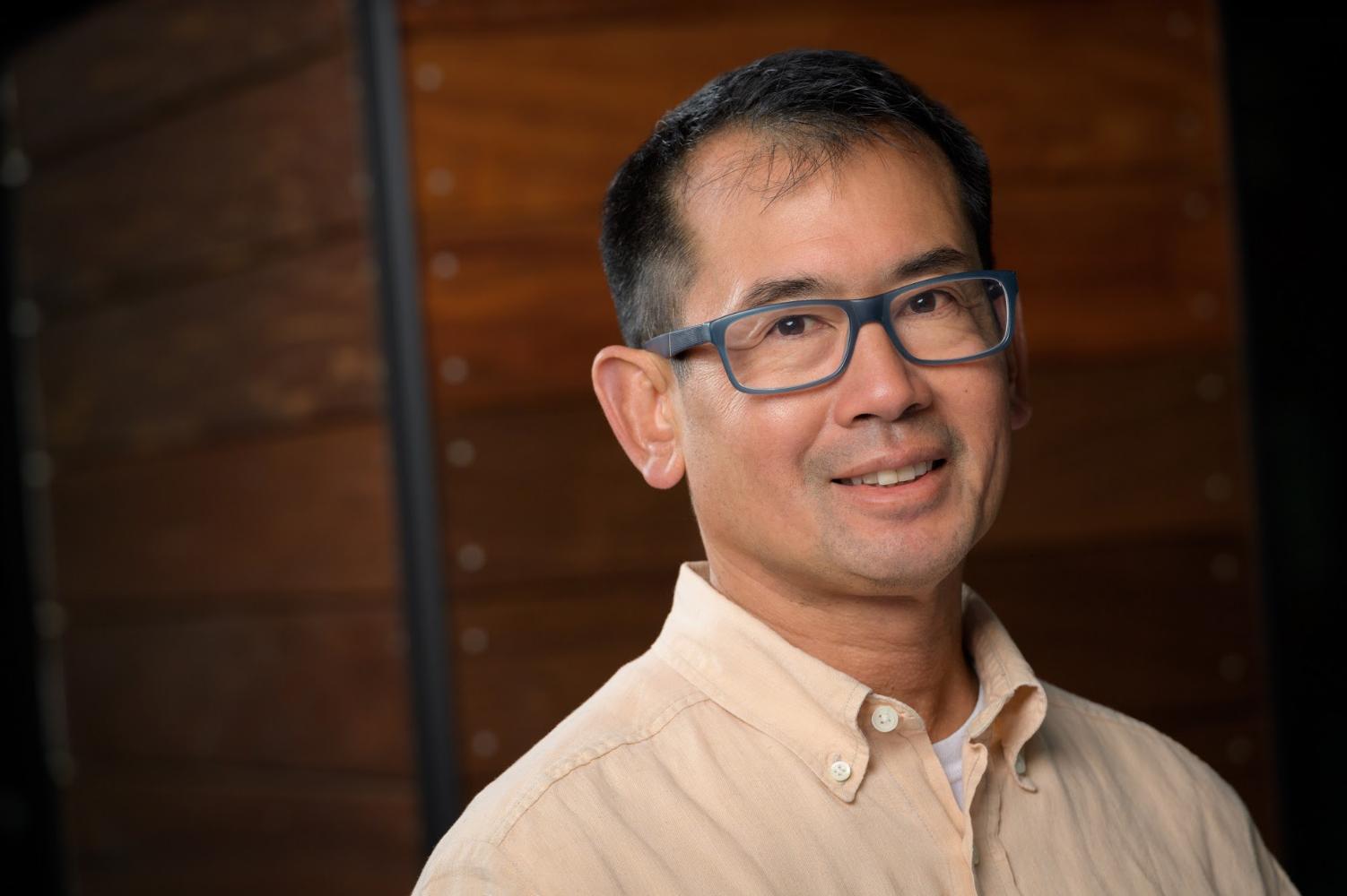 Principal Clifford Chang, Surveying As-Built Projects at new Cupertino Main Street
