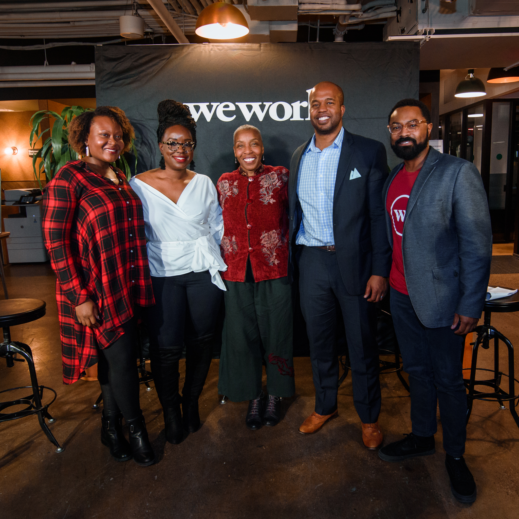 WeWork x WeOfColor - Navigating Your Career Path as a Person of Color