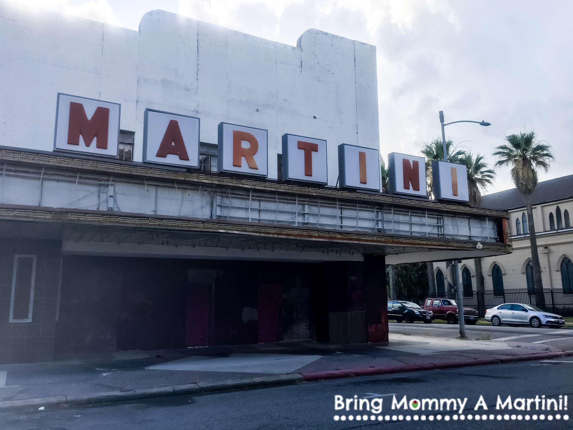 The old Martini Theater - built in 1937