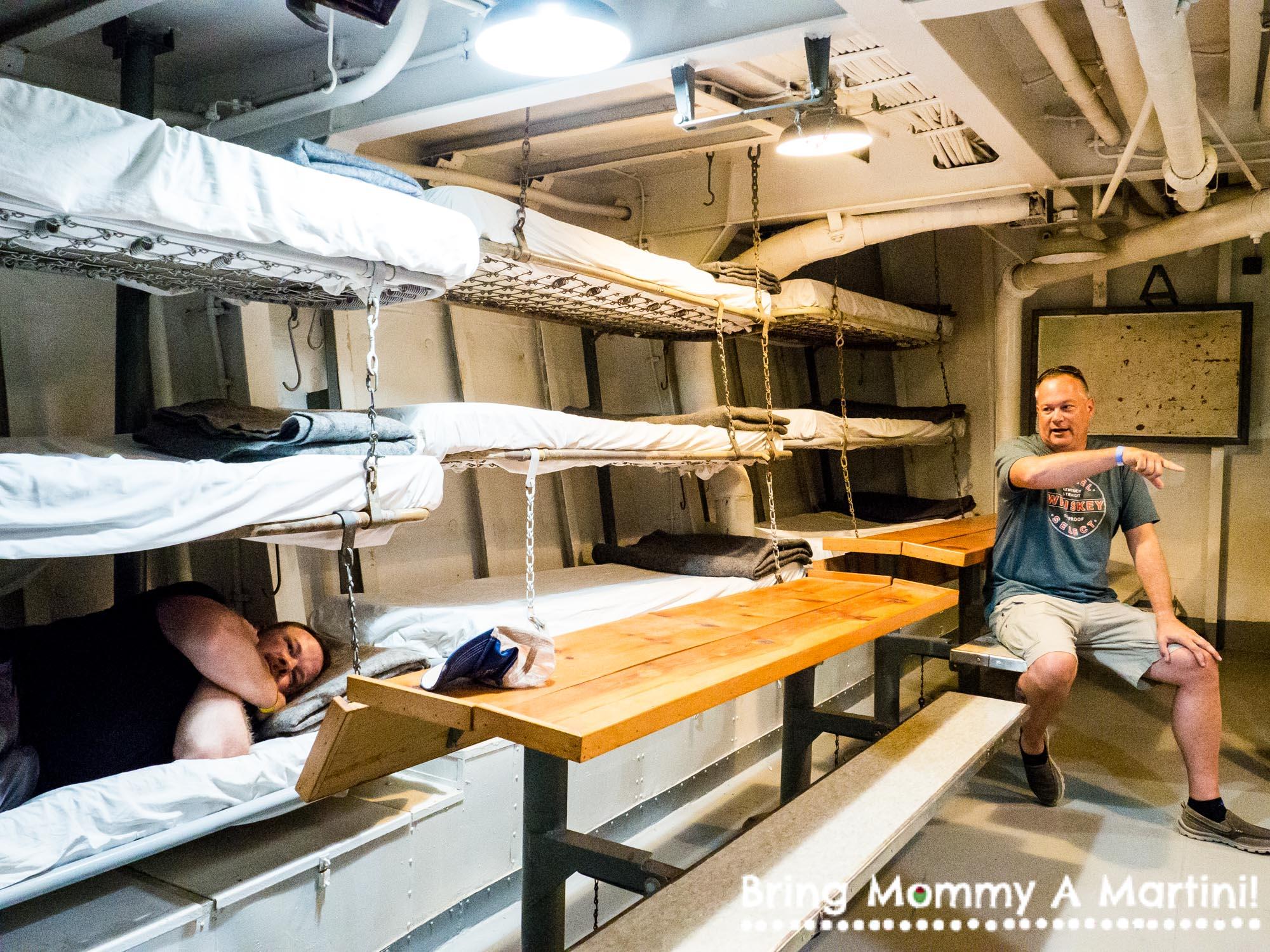 Inside the USS Stewart