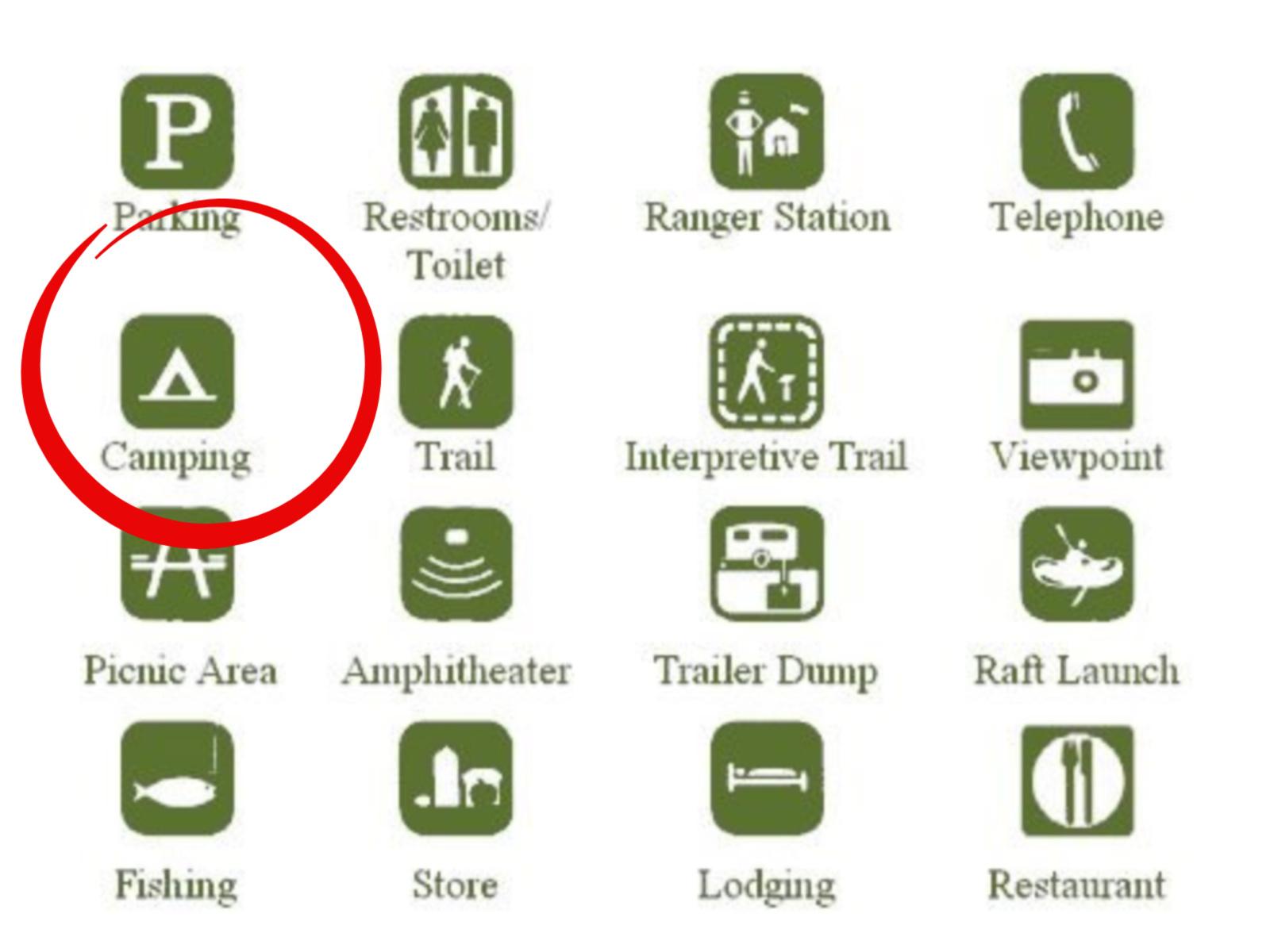 Image courtesy National Parks Service: https://www.nps.gov/noca/planyourvisit/accessibility-symbols.htm