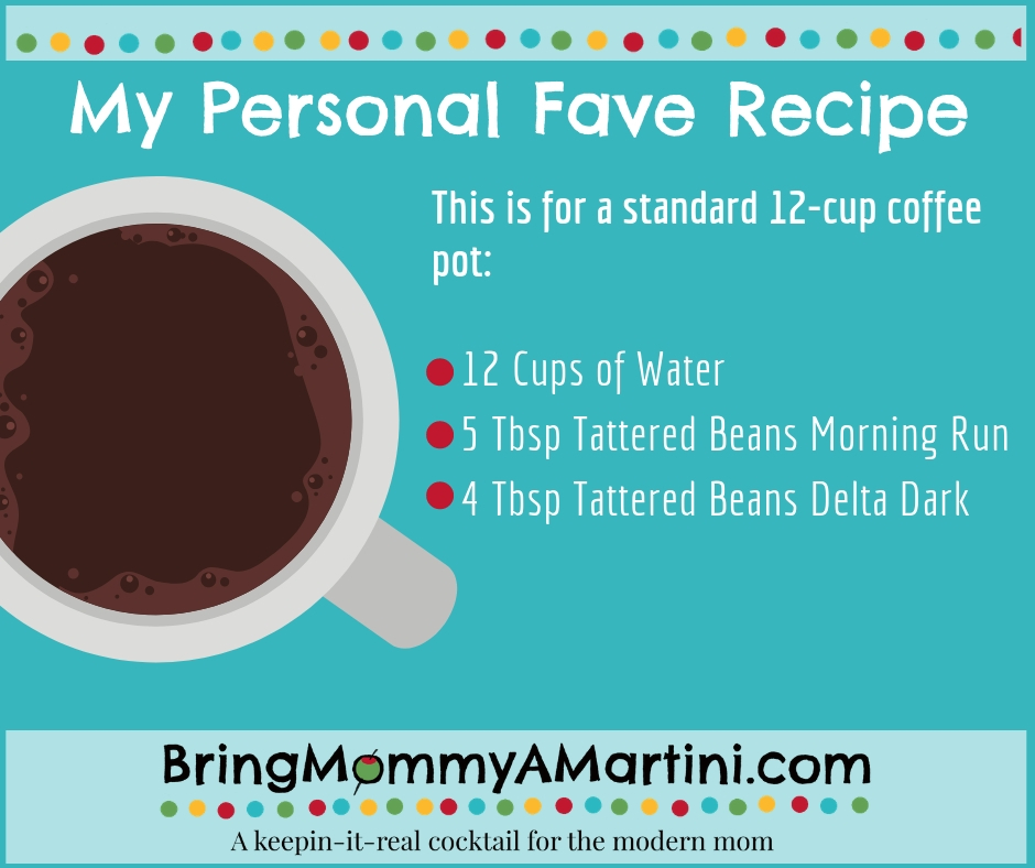 My Favorite Coffee Recipe | Bring Mommy A Martini