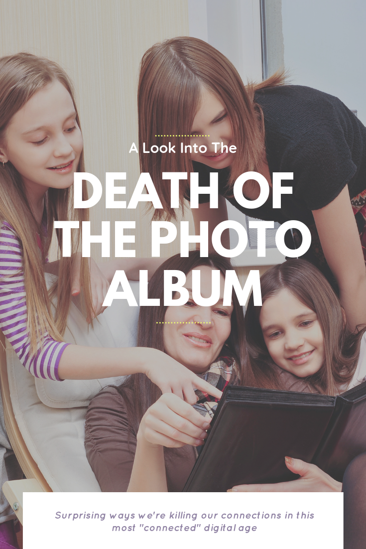 Death Of The Photo Album & How It's Killing Our Connections | Bring Mommy A Martini