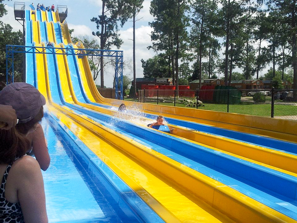 Check out this monster slide!