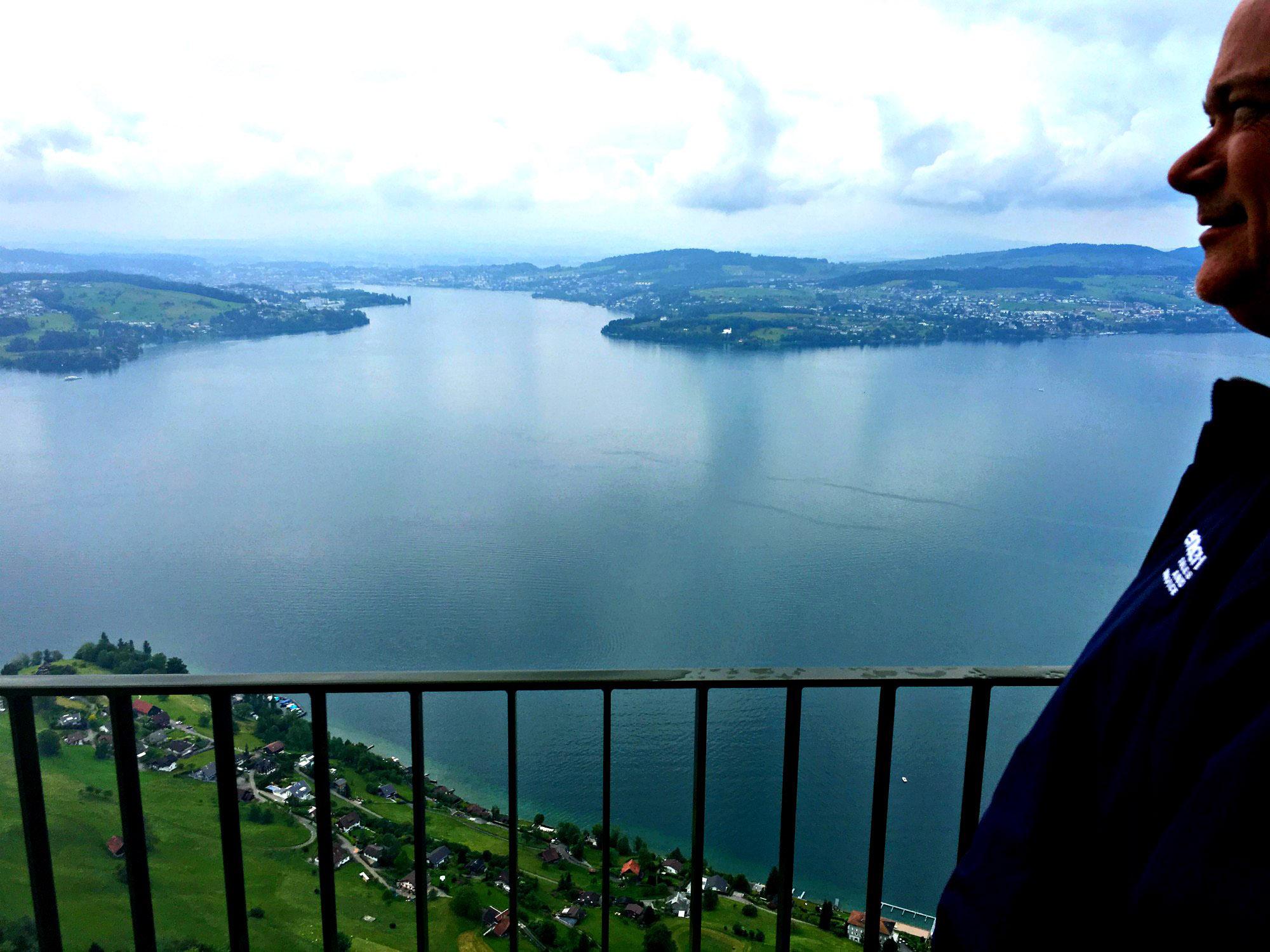 View of Lake Lucerne from Bürgenstock Resort