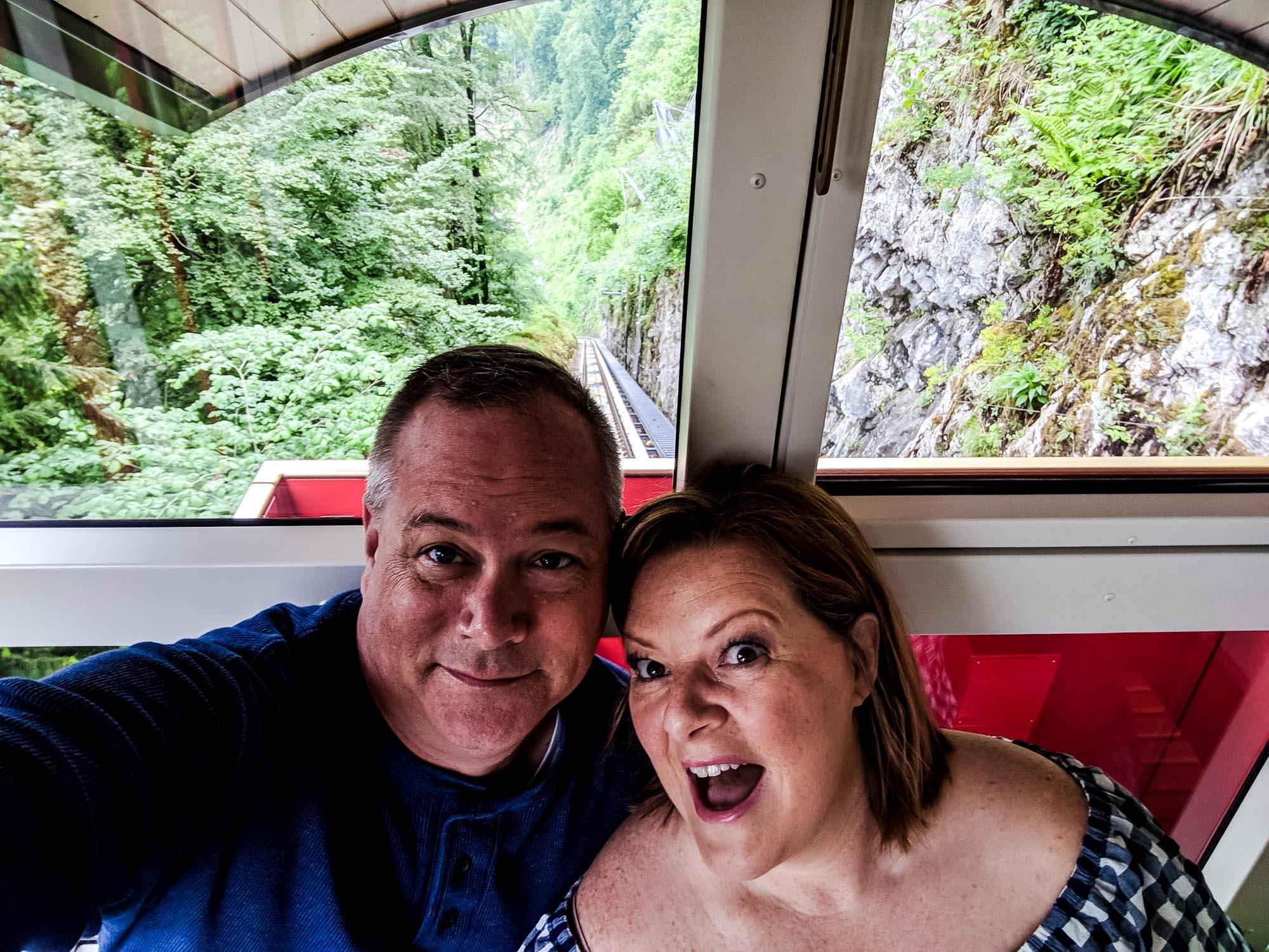 On the Hammetschwand Lift