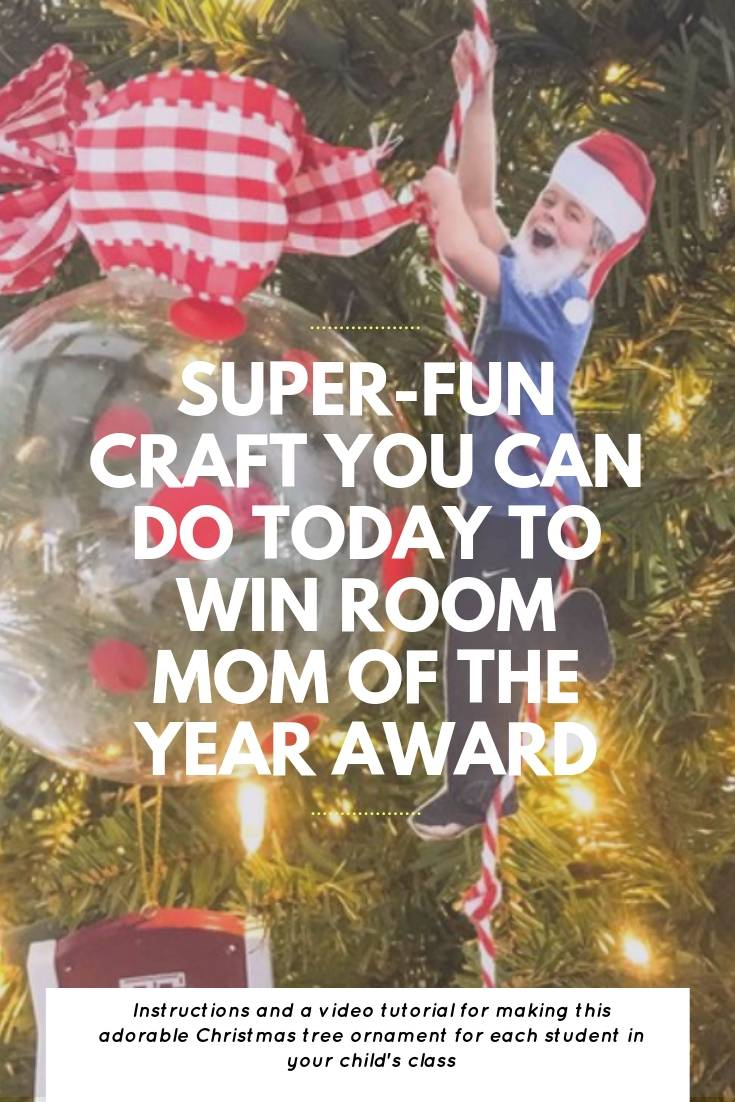 Super Fun Craft To Win Room Mom Of The Year Award | Bring Mommy A Martini