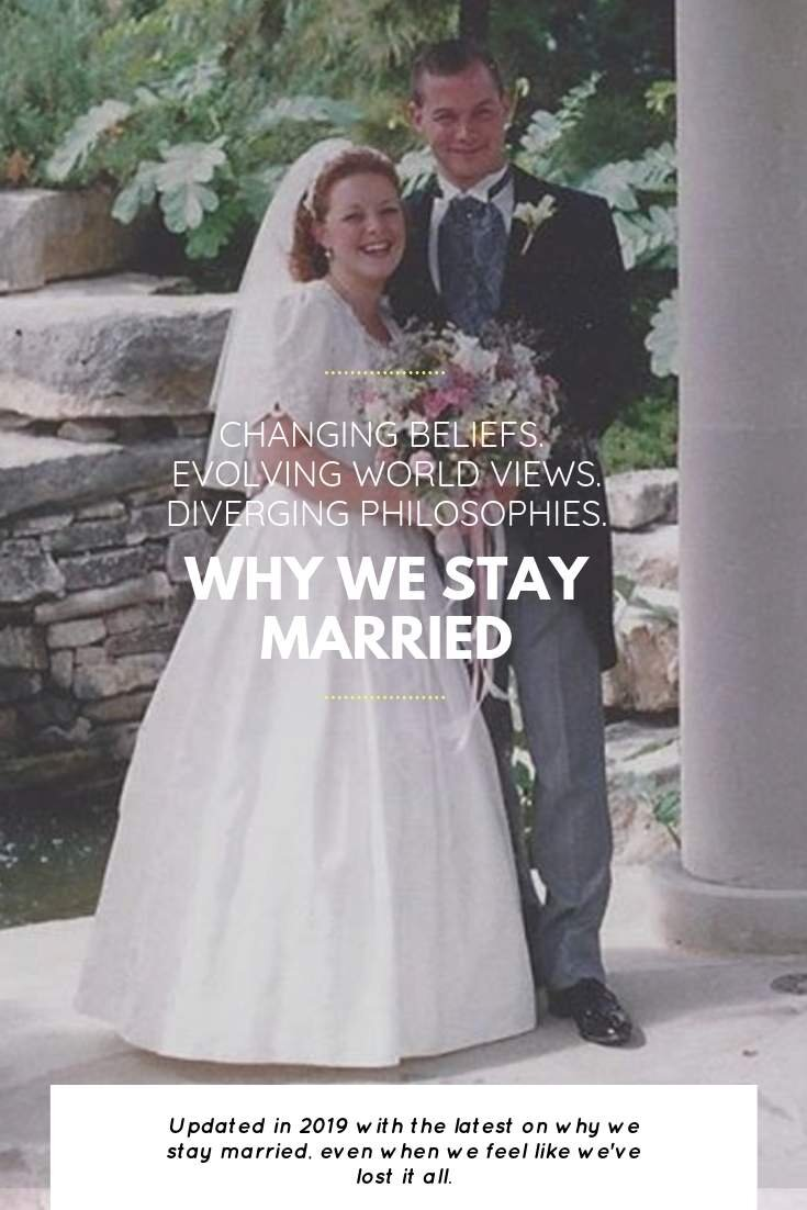 Staying Married Is Hard. Here's Why We Stay Married | Bring Mommy A Martini