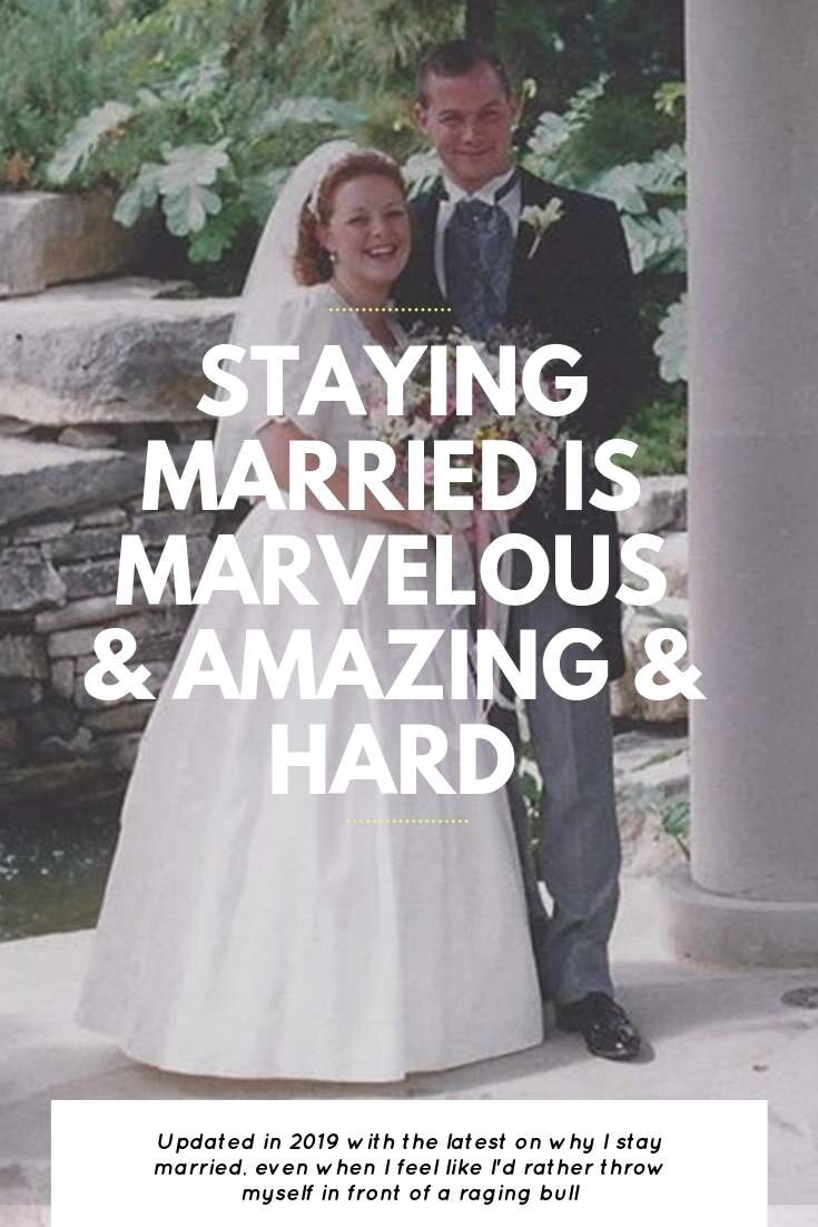 Staying Married Is Marvelous and Amazing and HARD   Bring Mommy A Martini