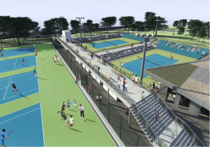 Cary Leeds Center for Tennis & Learning in Crotona Park will be nonprofit program's third NYC site