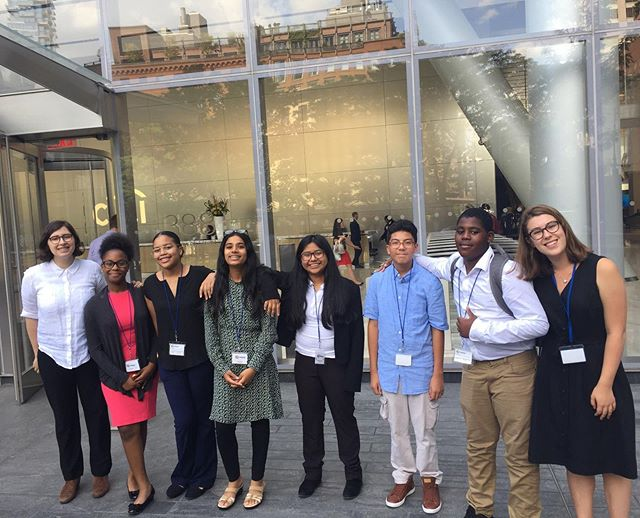 Career day offered some great views of the city and learning about finance from the offices of @citi! Thanks for hosting our middle school students this summer! #careerday #btny