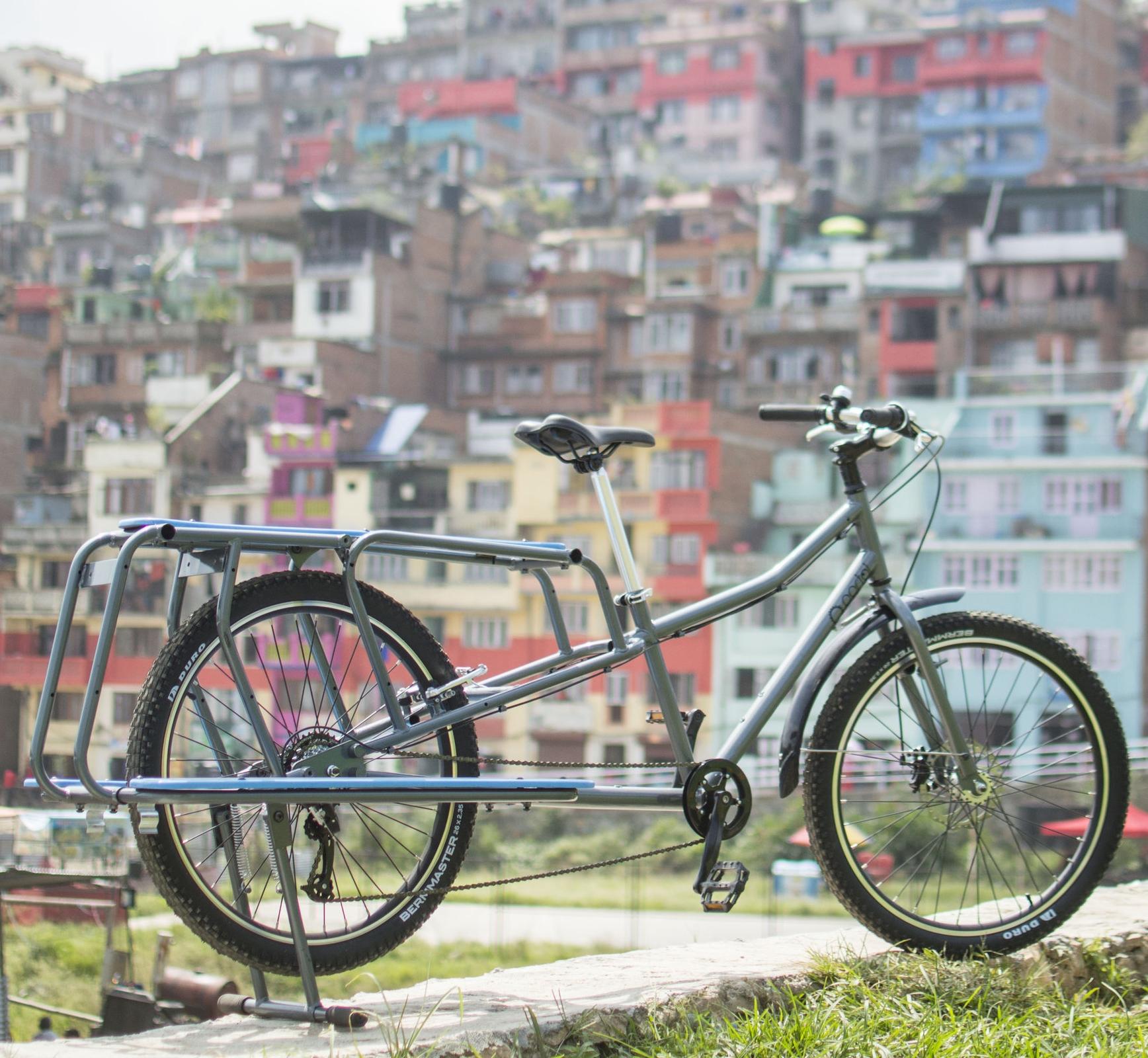 Long Tail Cargo Bike - NPRs. 40,000