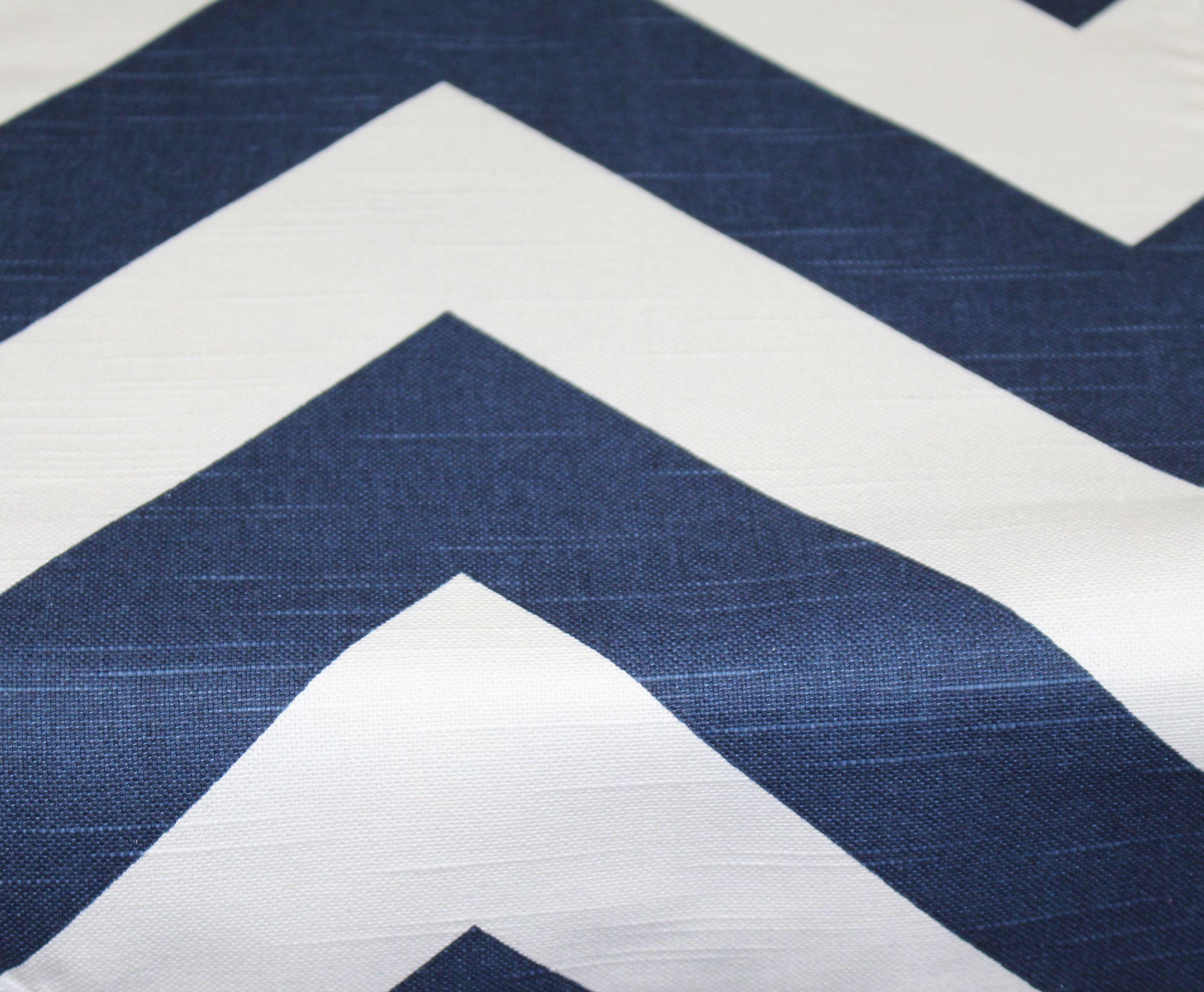 Navy Slub Zipp
