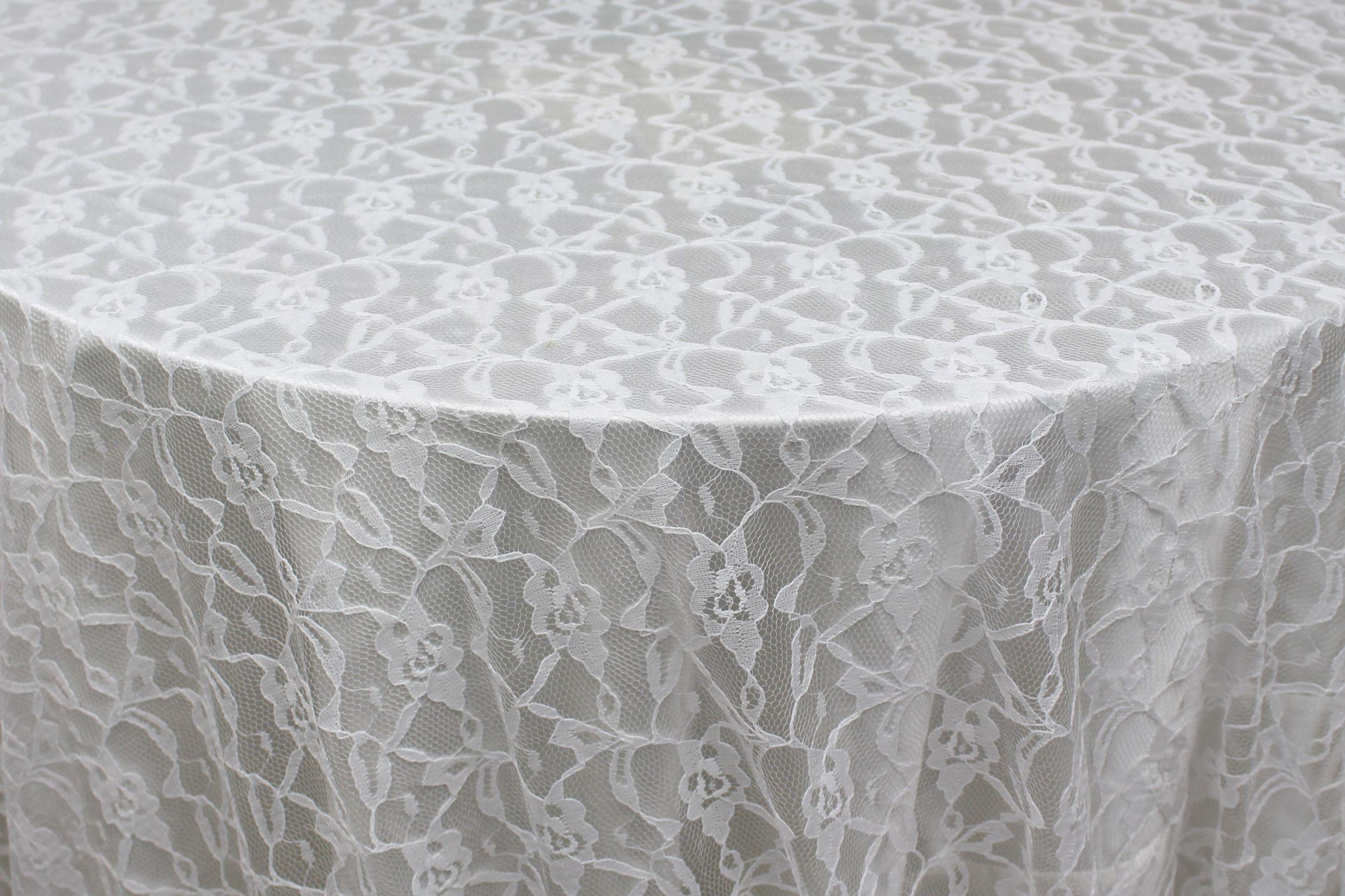 White Gatsby Lace