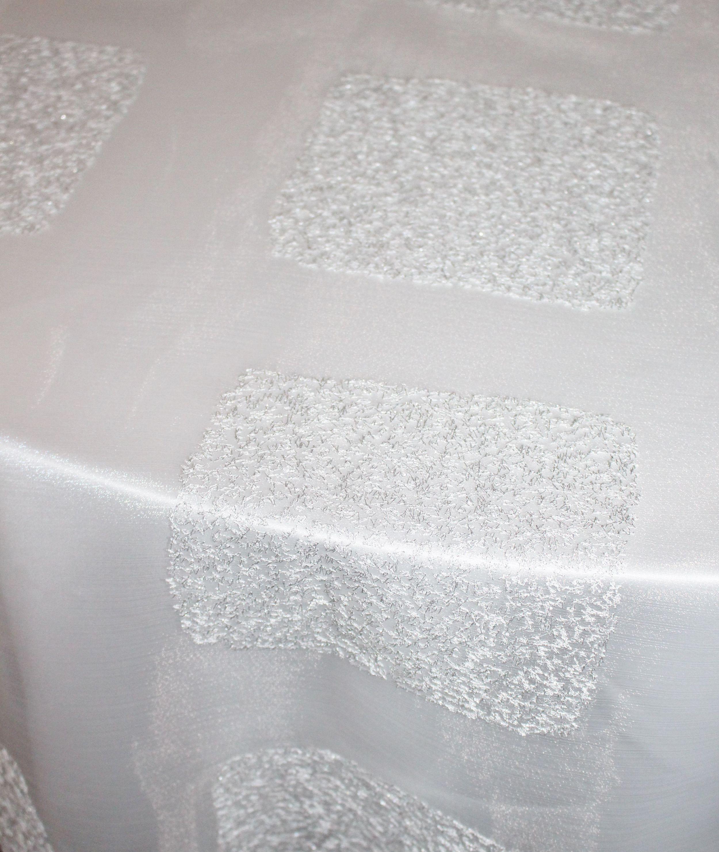 White Sheer Crystal Windows