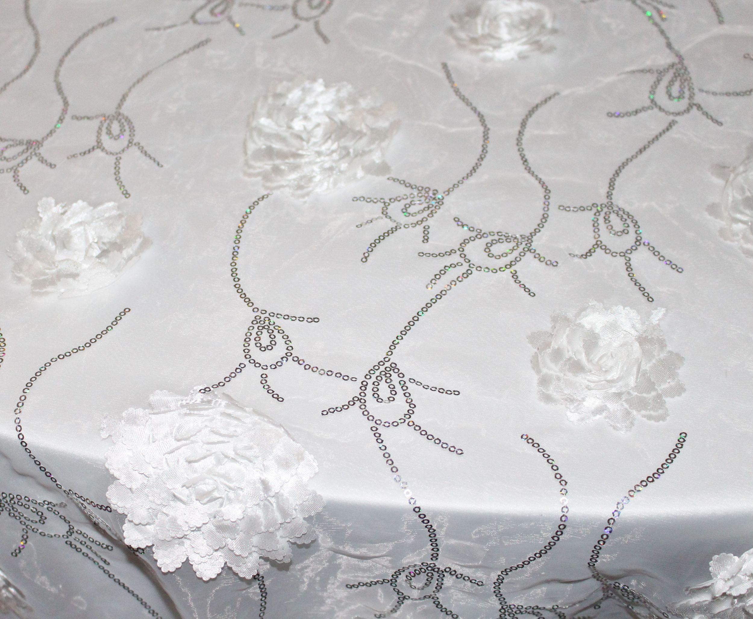 White Sheer Bridealy Overlay