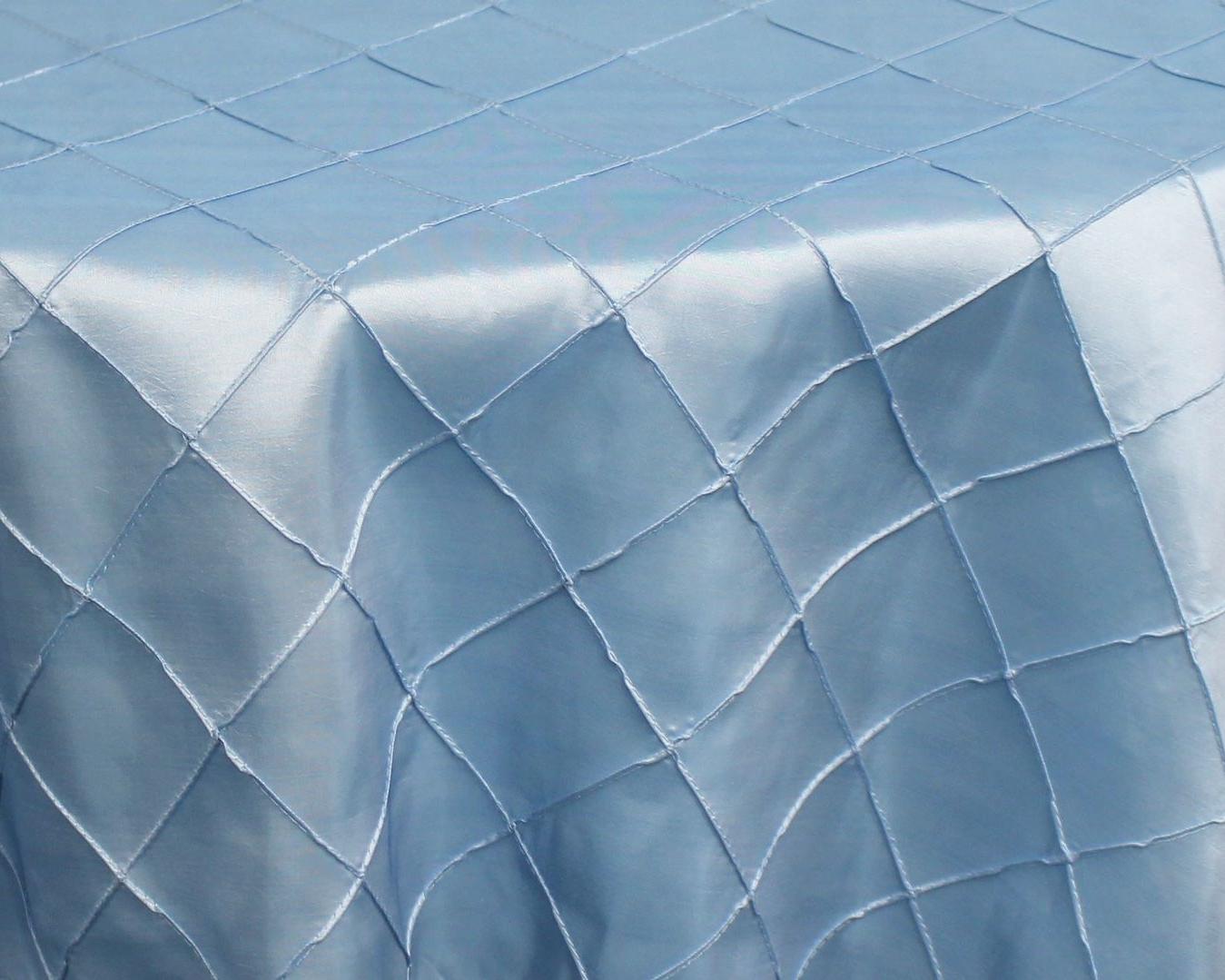 Ice Blue Pintuck