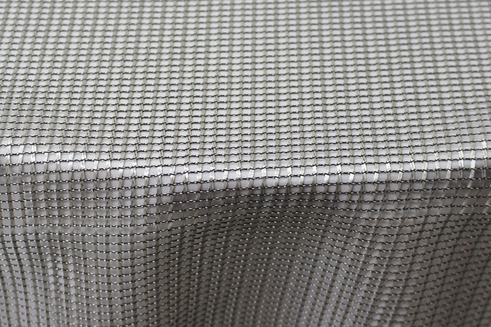 Silver Metallic Net
