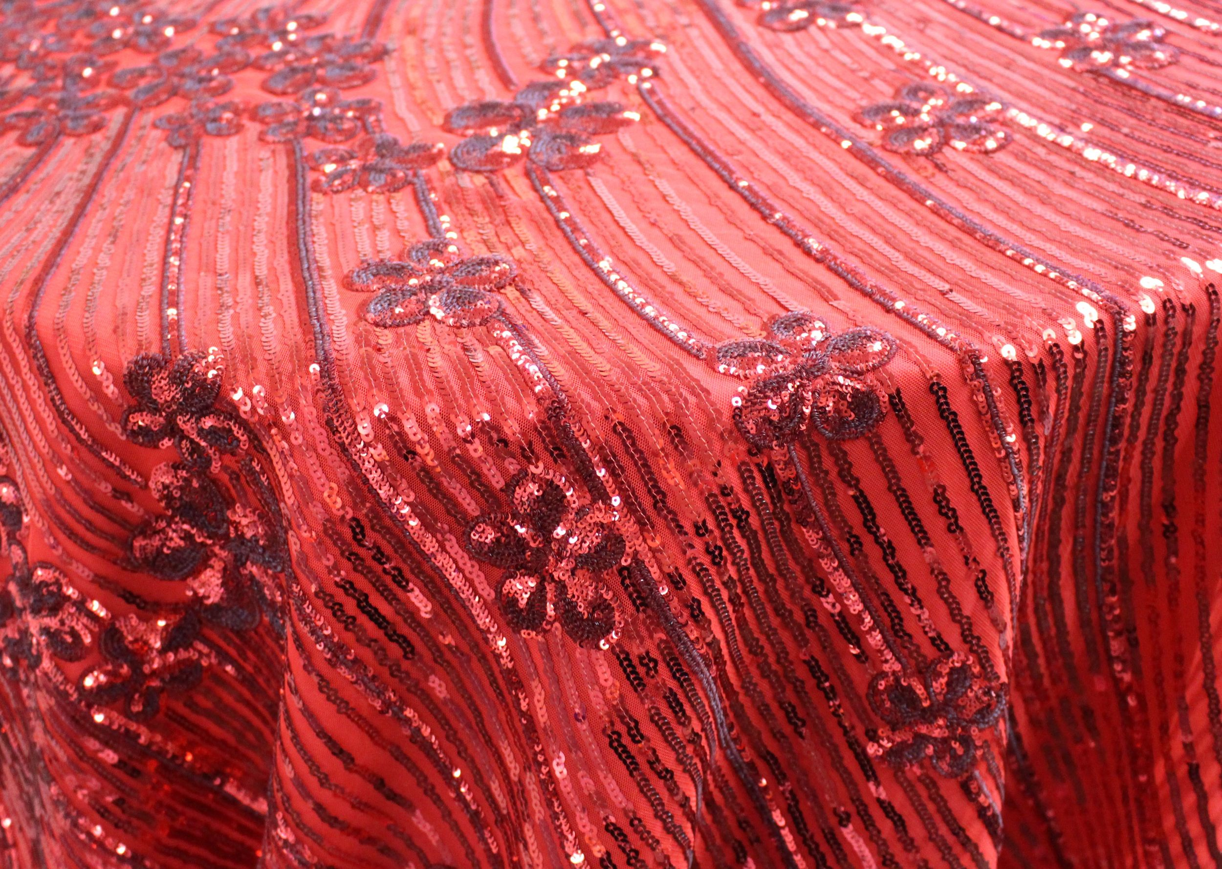 Red Dream Sequins