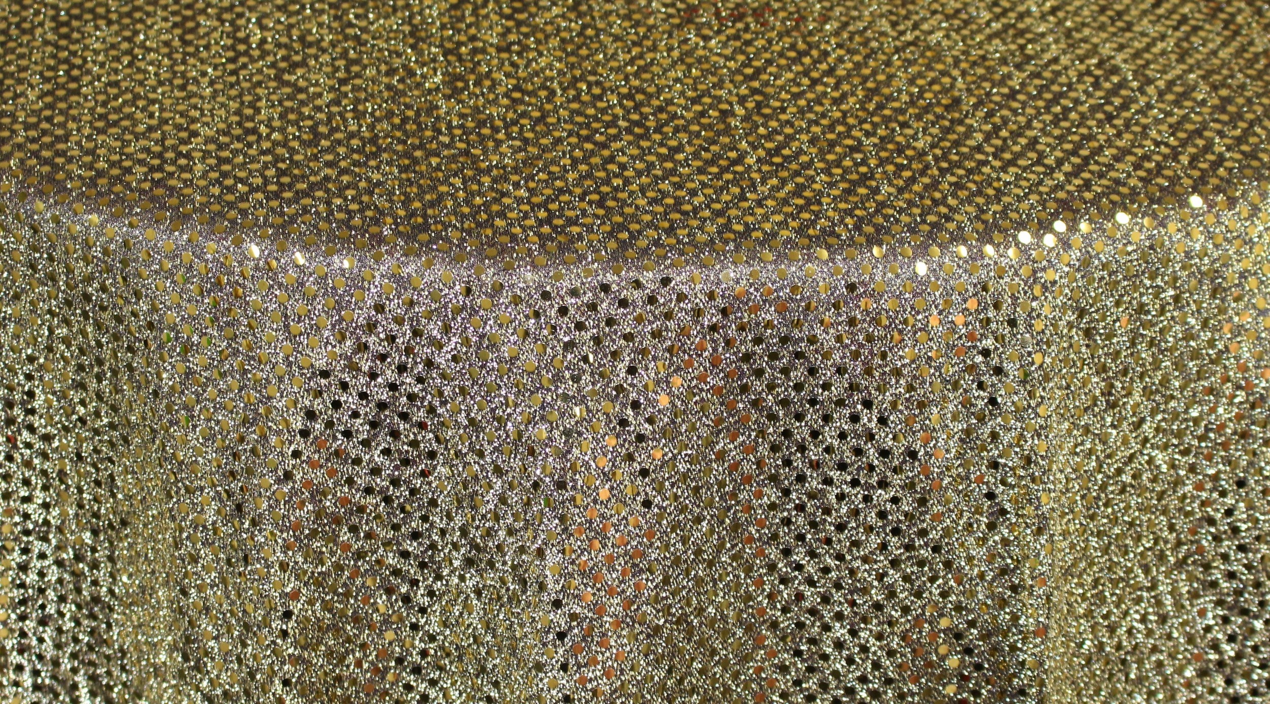 Gold & Black 3MM Sequins