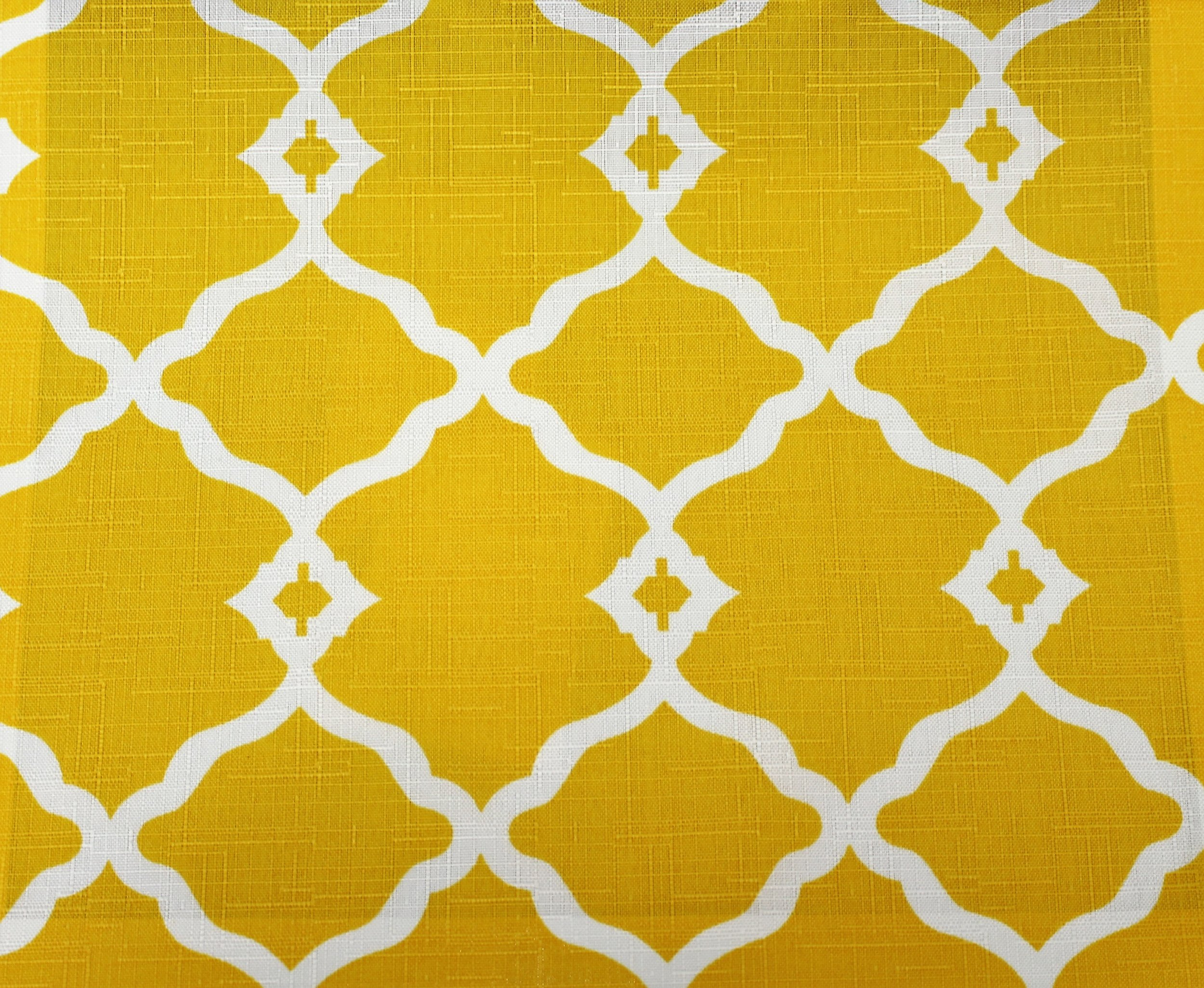 Yellow Fretwork Onyx