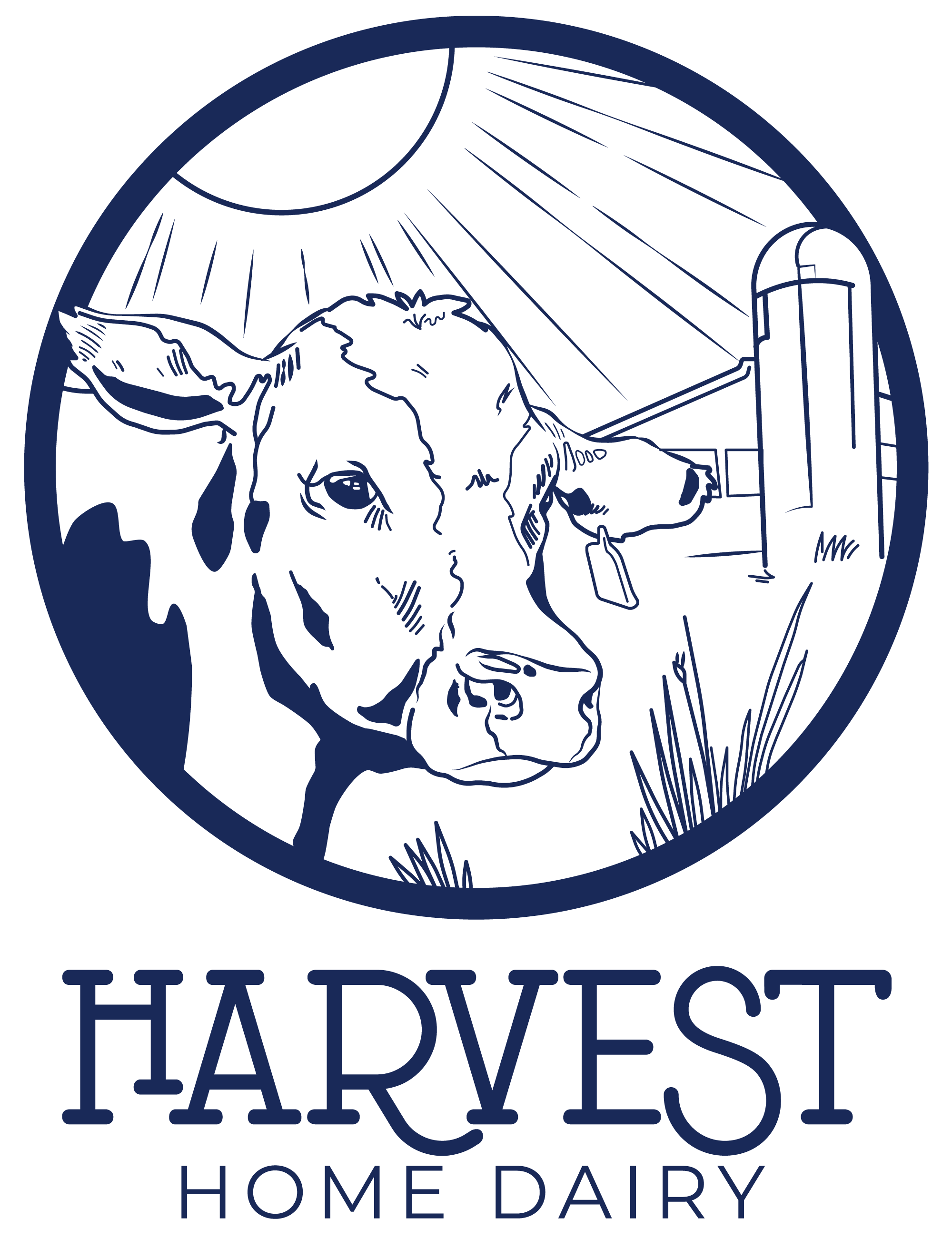 Logos should be simple, but sometimes you just gotta draw a cow -