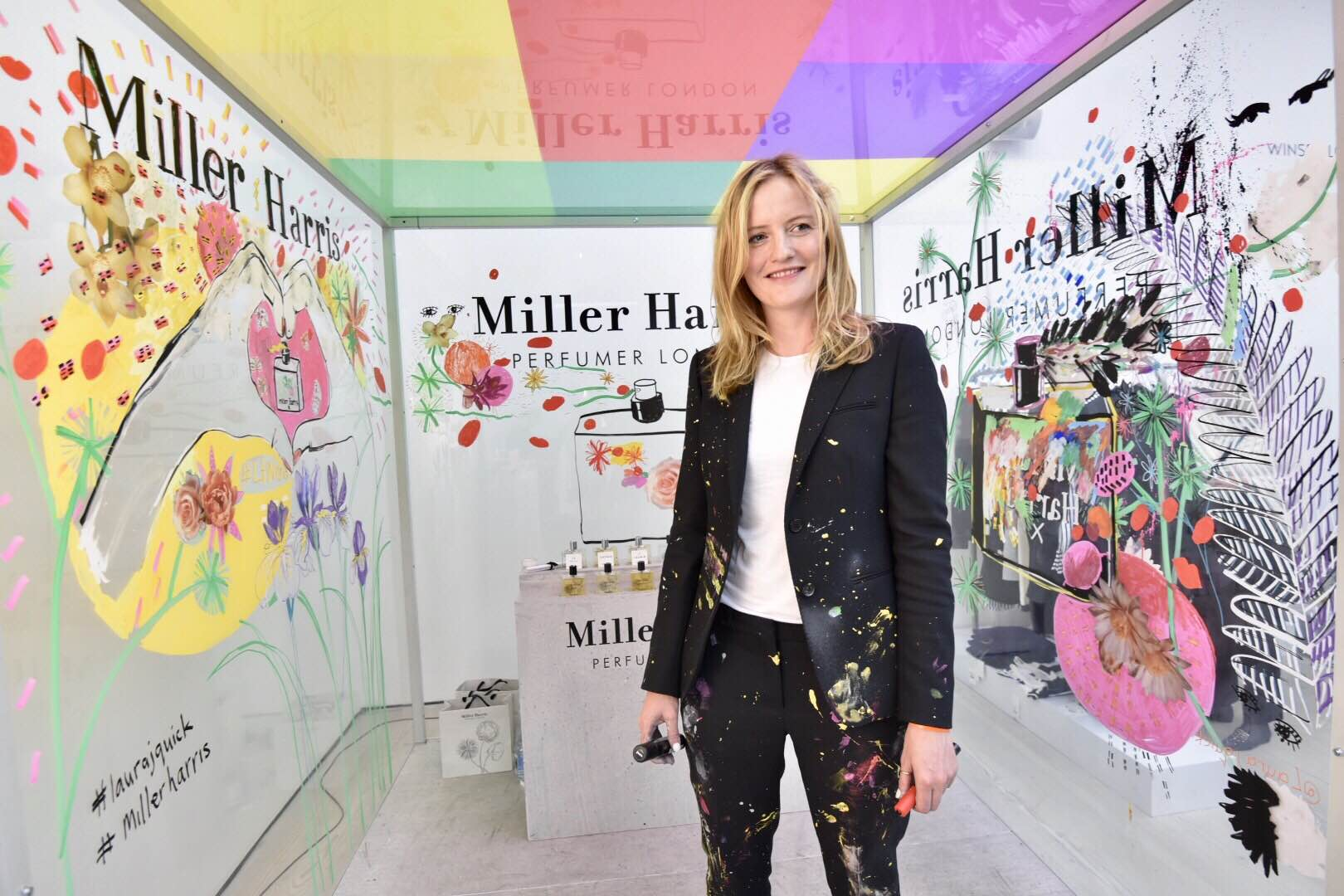 Live Piece for Miller Harris at Saatchi Gallery, LFW SS17