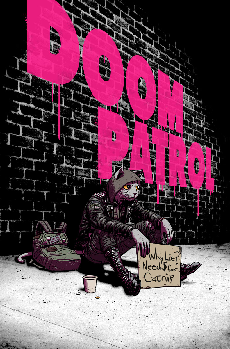 Doom Patrol - Issue 8