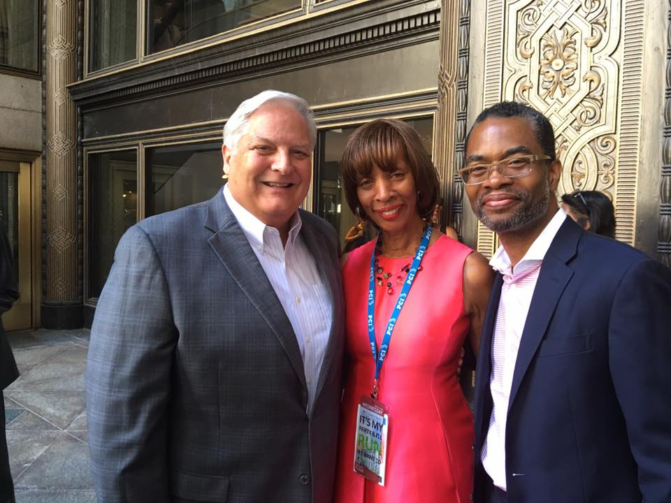Democratic National Convention with Baltimore City Democratic Mayoral Nominee Catherine Pugh and Verizon's Tabb Bishop