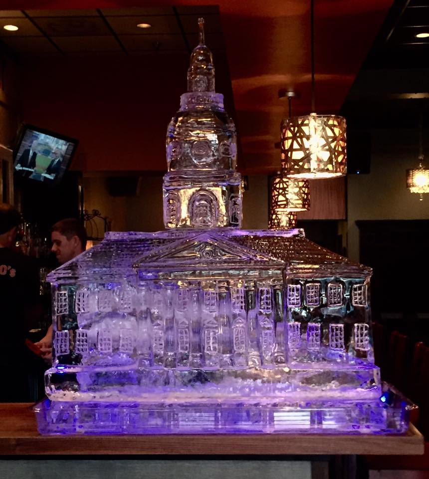 Ice Sculpture of the Maryland State House
