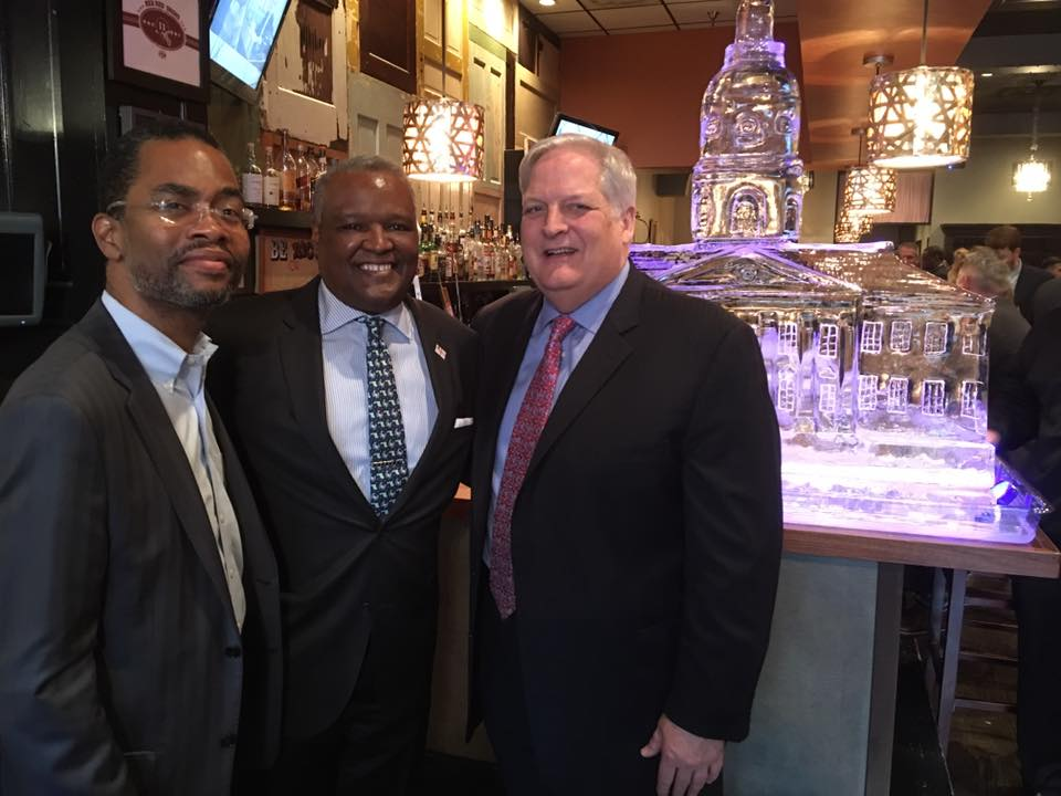 Sine Die Party 2016 with Verizon's Tabb Bishop and Prince George's County Executive Rushern Baker