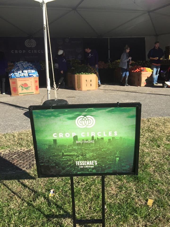 Our client, Tessamae's hosted an event in Baltimore City called Crop Circles, where it helped distribute over 40,000 pounds of fresh produce to city residents!