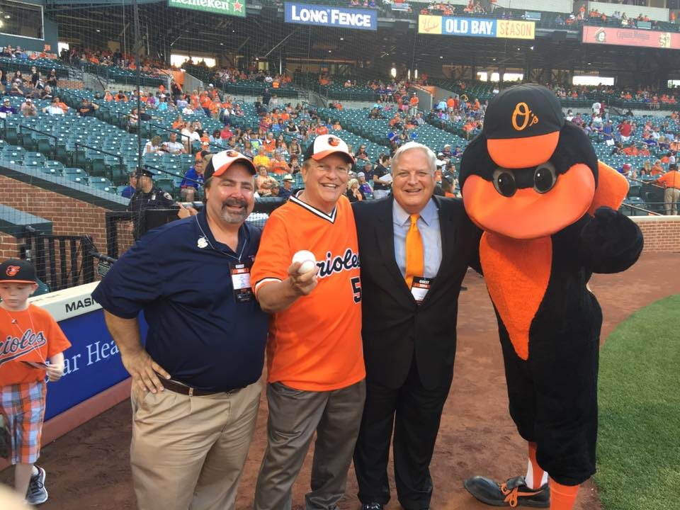 Orioles Game with Secretary of Transportation Pete Rahn and Administrator of MTA Paul Comfort