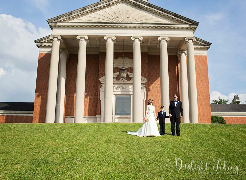 First Baptist Church Shreveport Louisiana Wedding Photographer - daylightfadingphotography.com