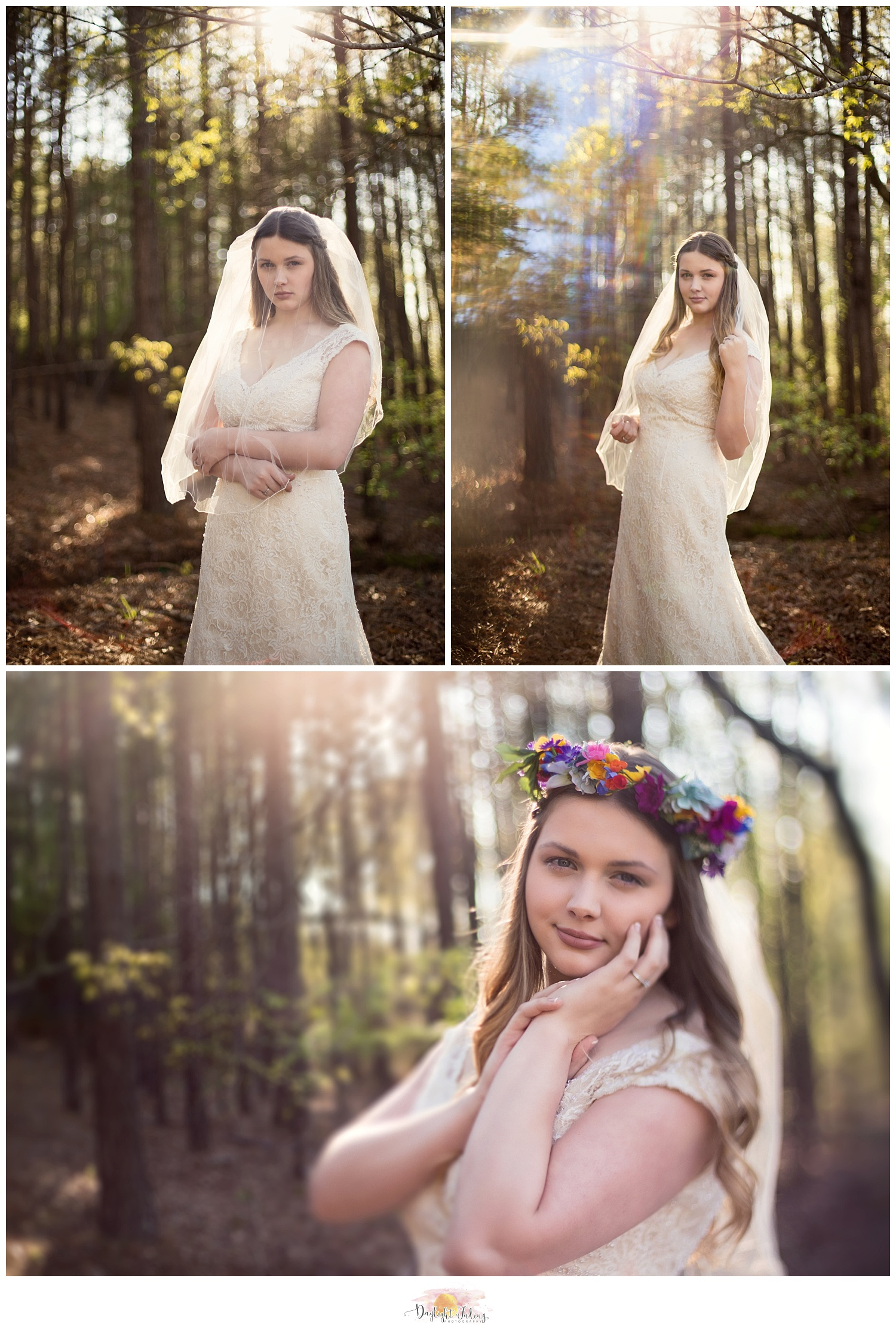 Bridal Portraits Creekwood Gardens Simsboro Ruston Louisiana