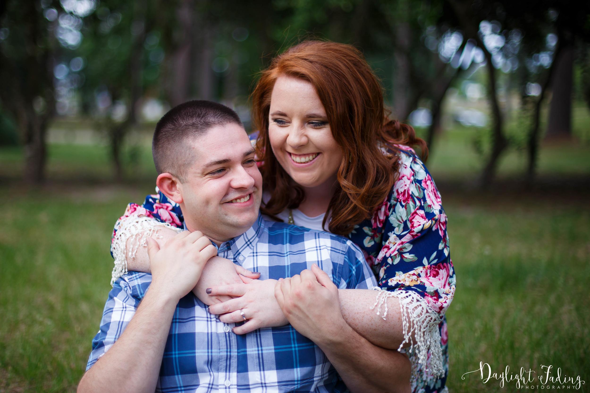 Engagement Photographer in Shreveport - daylightfadingphotography.com