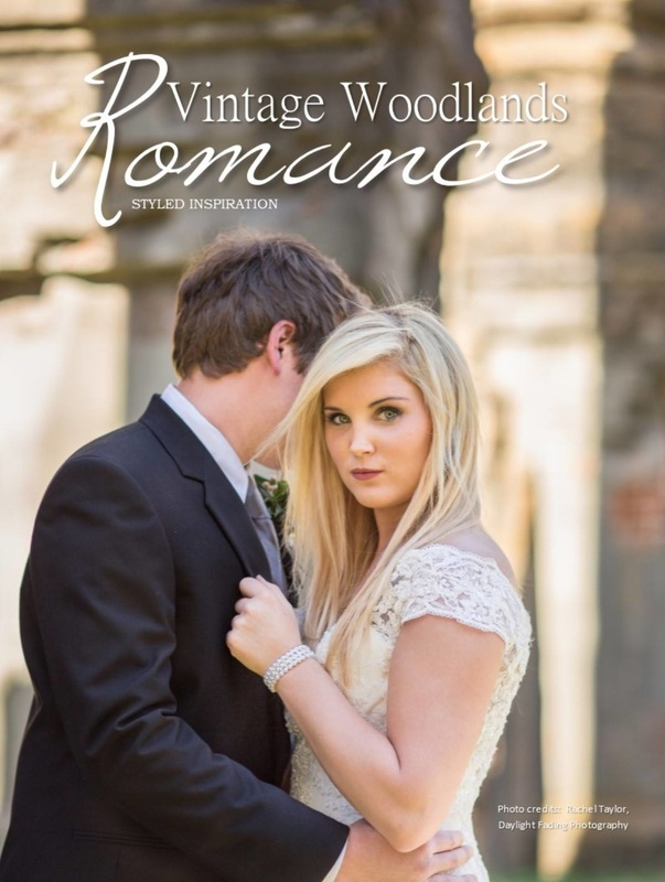 Windsor Ruins Mississippi Styled Wedding Editorial