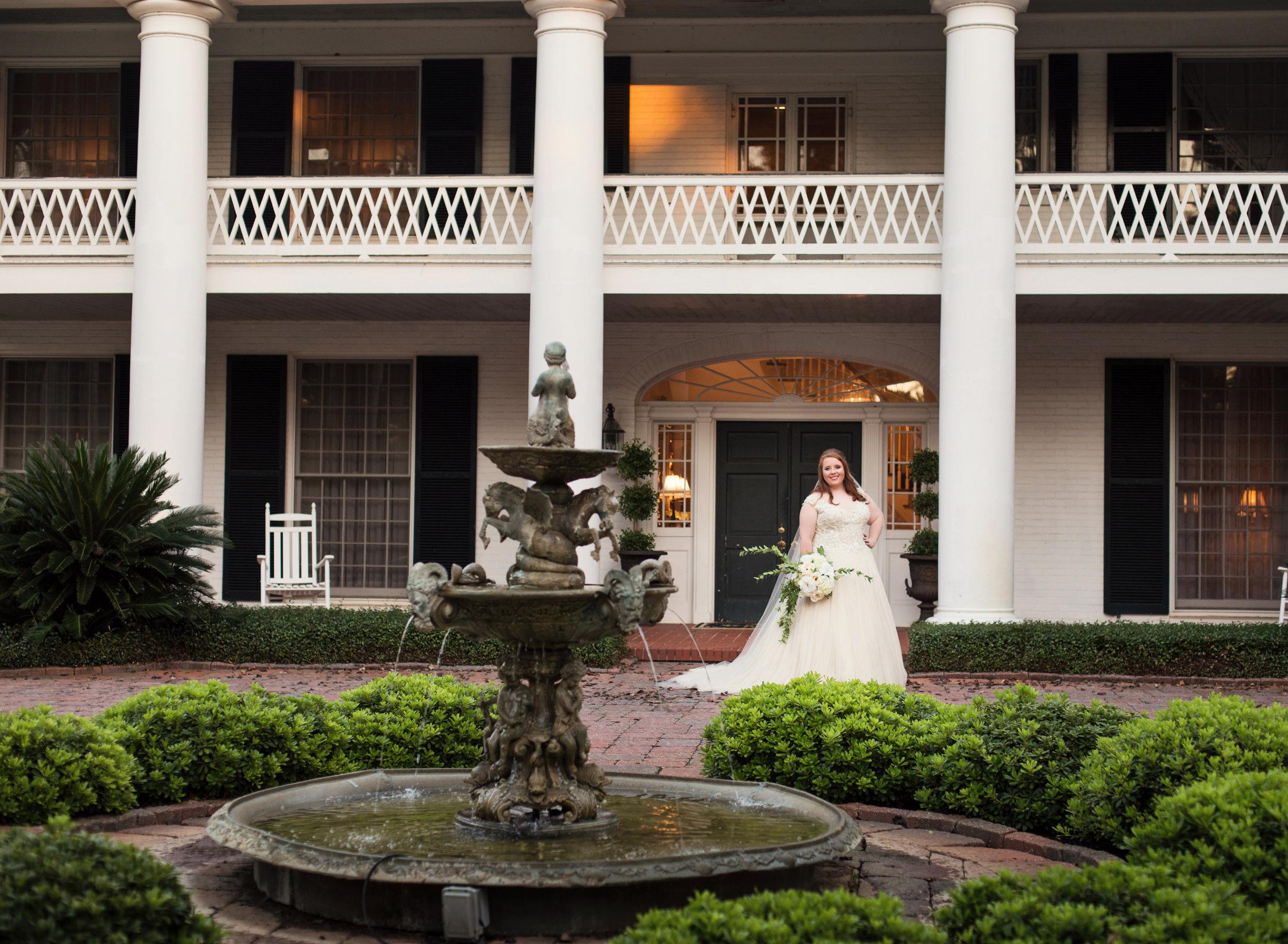 Wedding Photos at CedarCroft Plantation in Greenwood, Louisiana