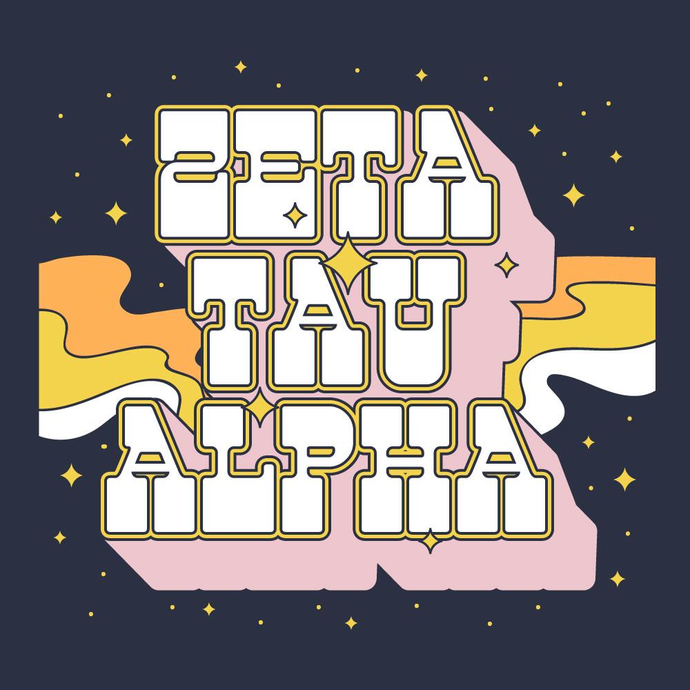 Cosmic Stunner. Alyssa Moore. T-Shirt Design. Apparel Graphic Design for The Neon South. Adobe Illustrator. Typography. Illustration. Vector illustration.