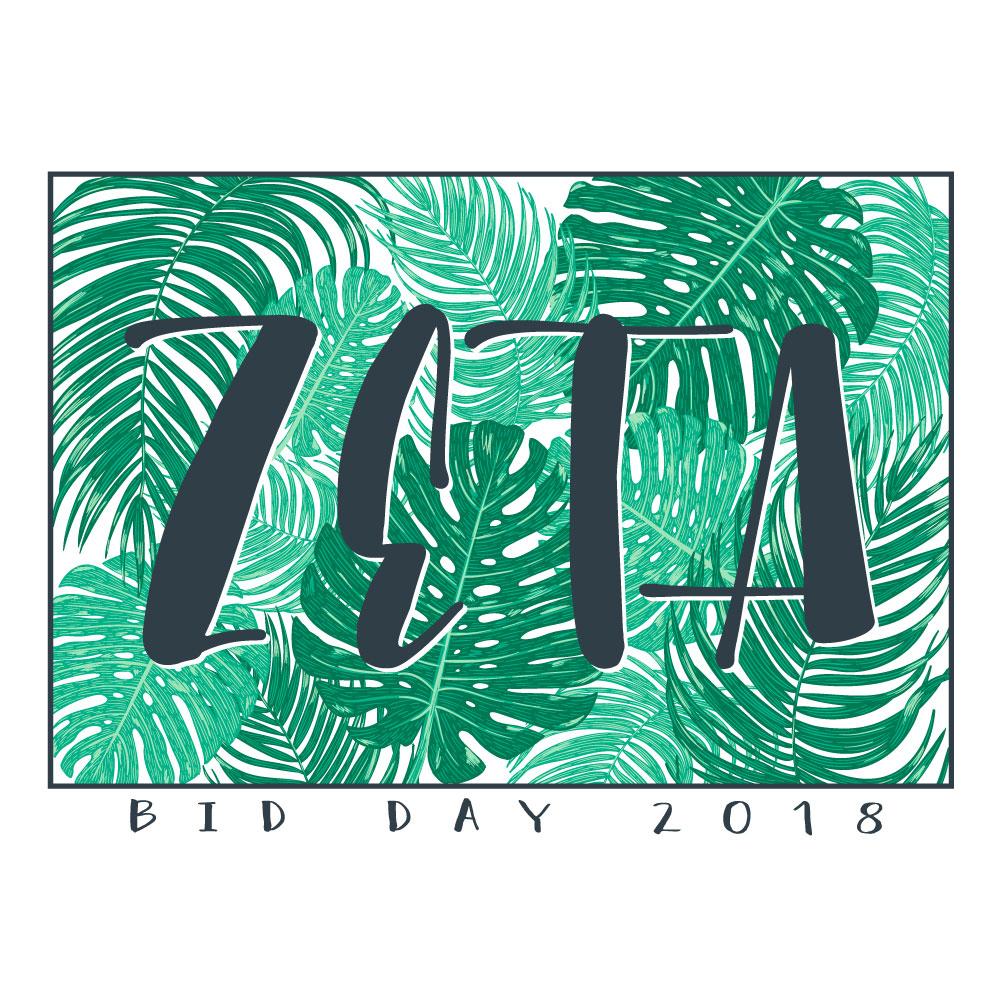 Palm Rectangle. Alyssa Moore. T-Shirt Design. Apparel Graphic Design for The Neon South. Adobe Illustrator. Typography. Illustration. Vector illustration.