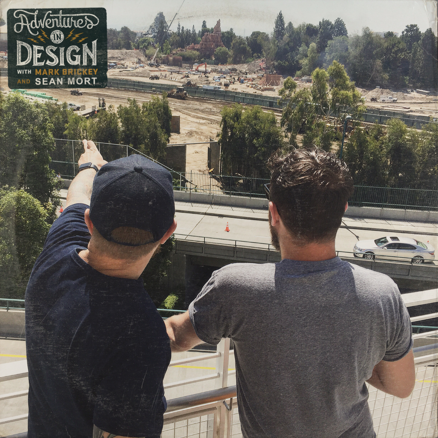 """""""Dreamers""""Construction of StarWars Land photograph by DKNG Studios"""