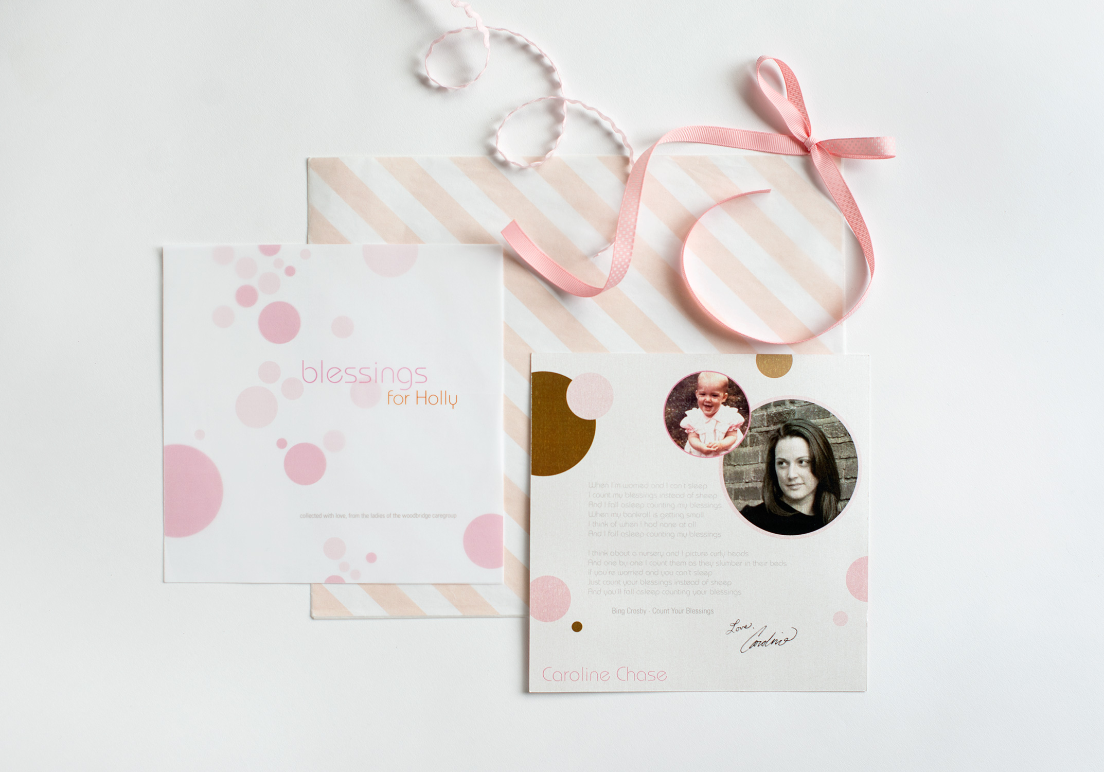 Baby Blessings Book Pages