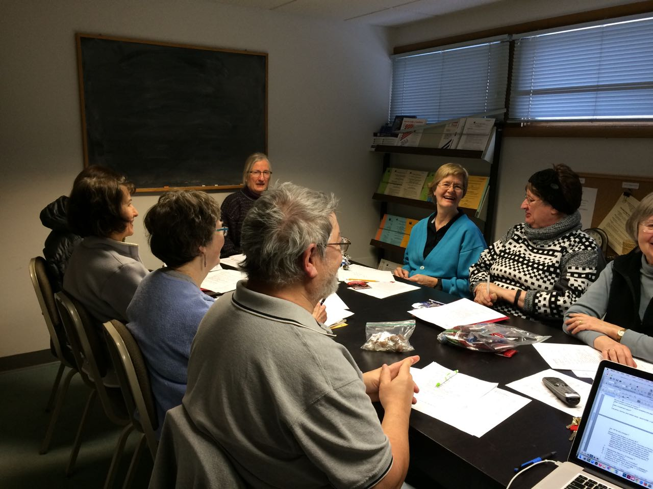 Board meetings are lively events!