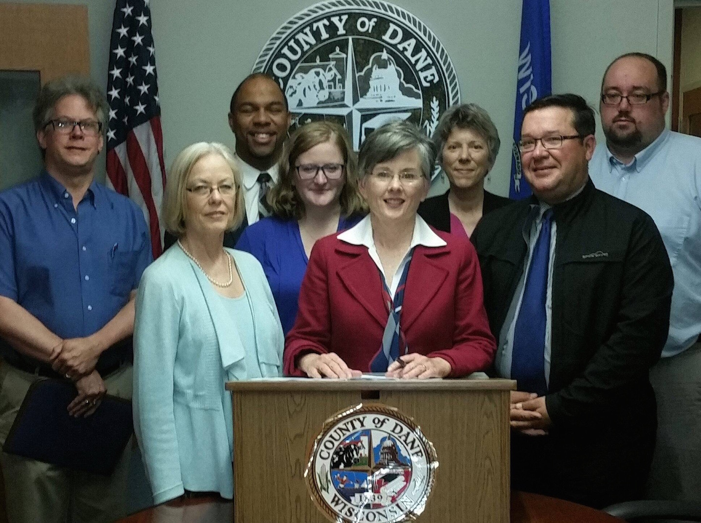 The Dane County Board's executive committee has launched a subcommittee to develop and propose an impartial process for drawing voting lines. LWVWI executive director Andrea Kaminski is happy to serve with Maurice Cheeks, Jenni Dye, WM Clausius, Linda Honold, Mark Hazelbaker and George Gillis.