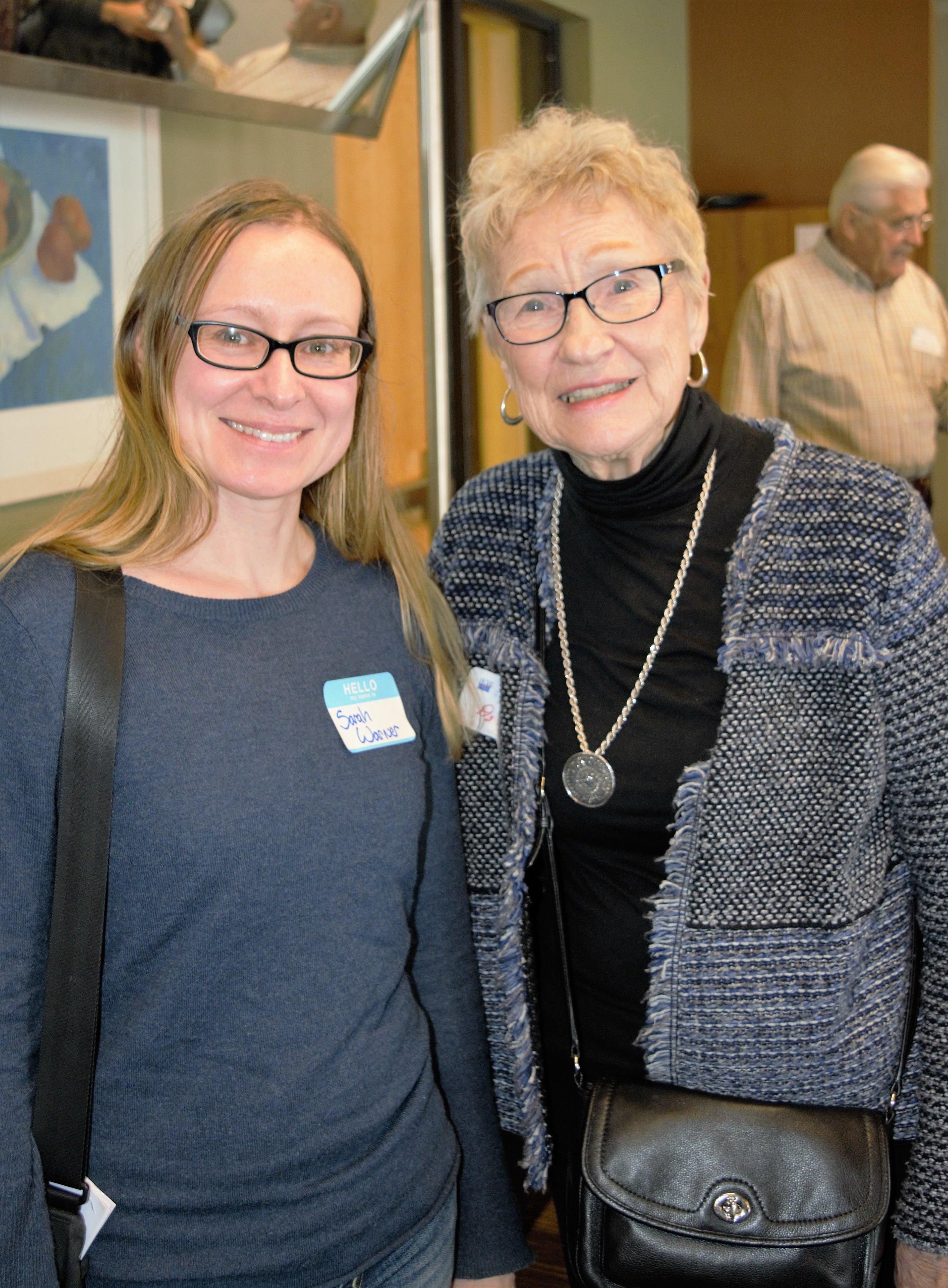 Sarah Warner and Dorothy Wheeler