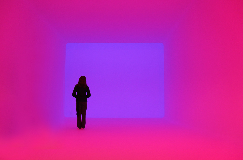 Sight Unseen, Varese 2013. Ganzfled  James Turrell . *Official Image from: Aisthesis-Fai Official Site