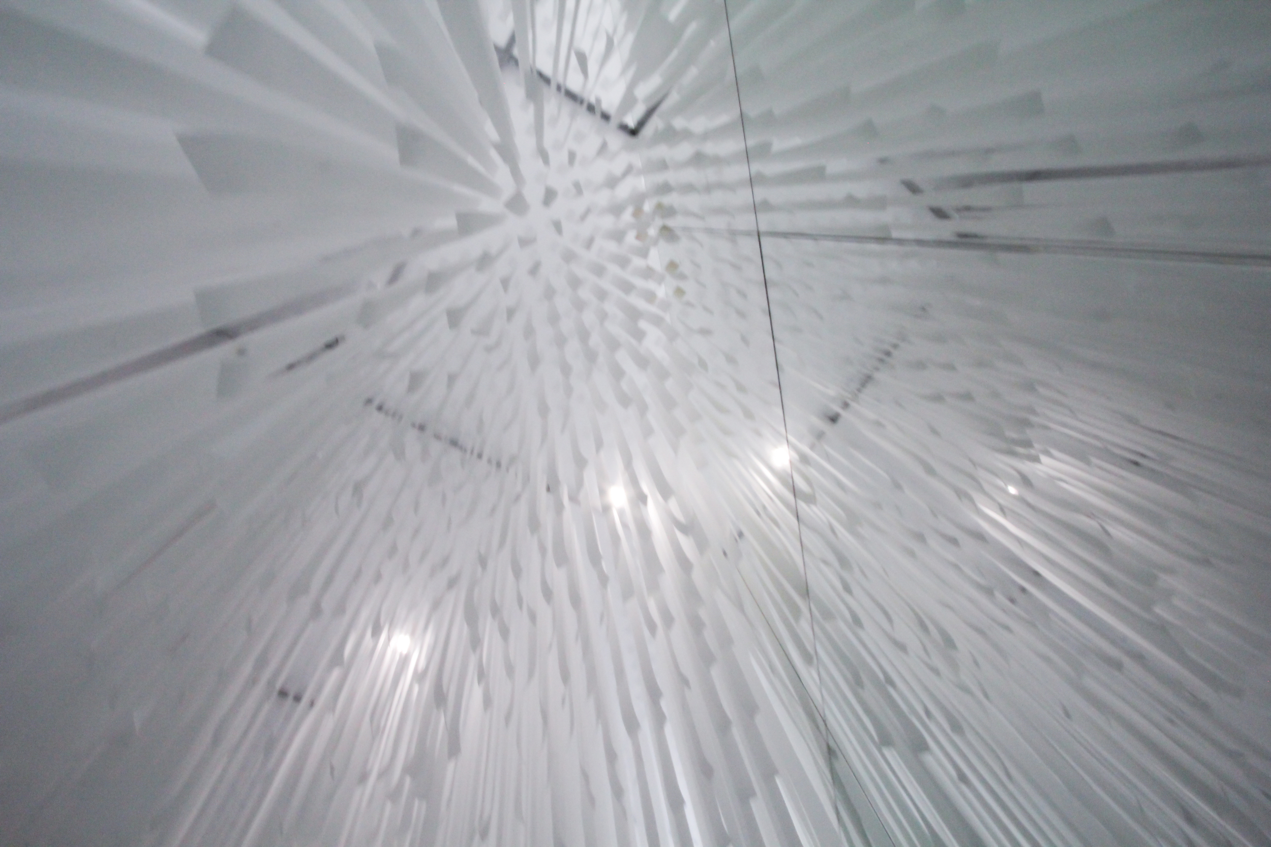 Suspended material. COS x Snarkitecture.  image ©futurecrafter